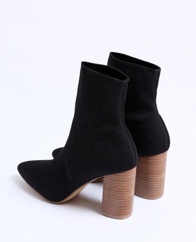 ad4298e94ebe Bottines chaussettes noir