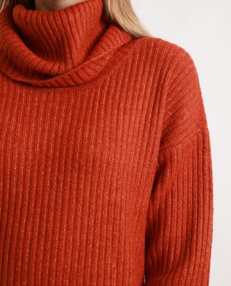 Robe pull orange