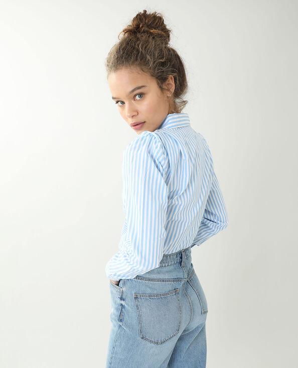 Chemise à épaulettes blanc - Pimkie