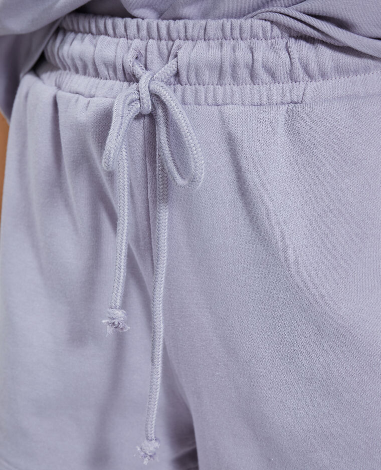Short molleton violet - Pimkie