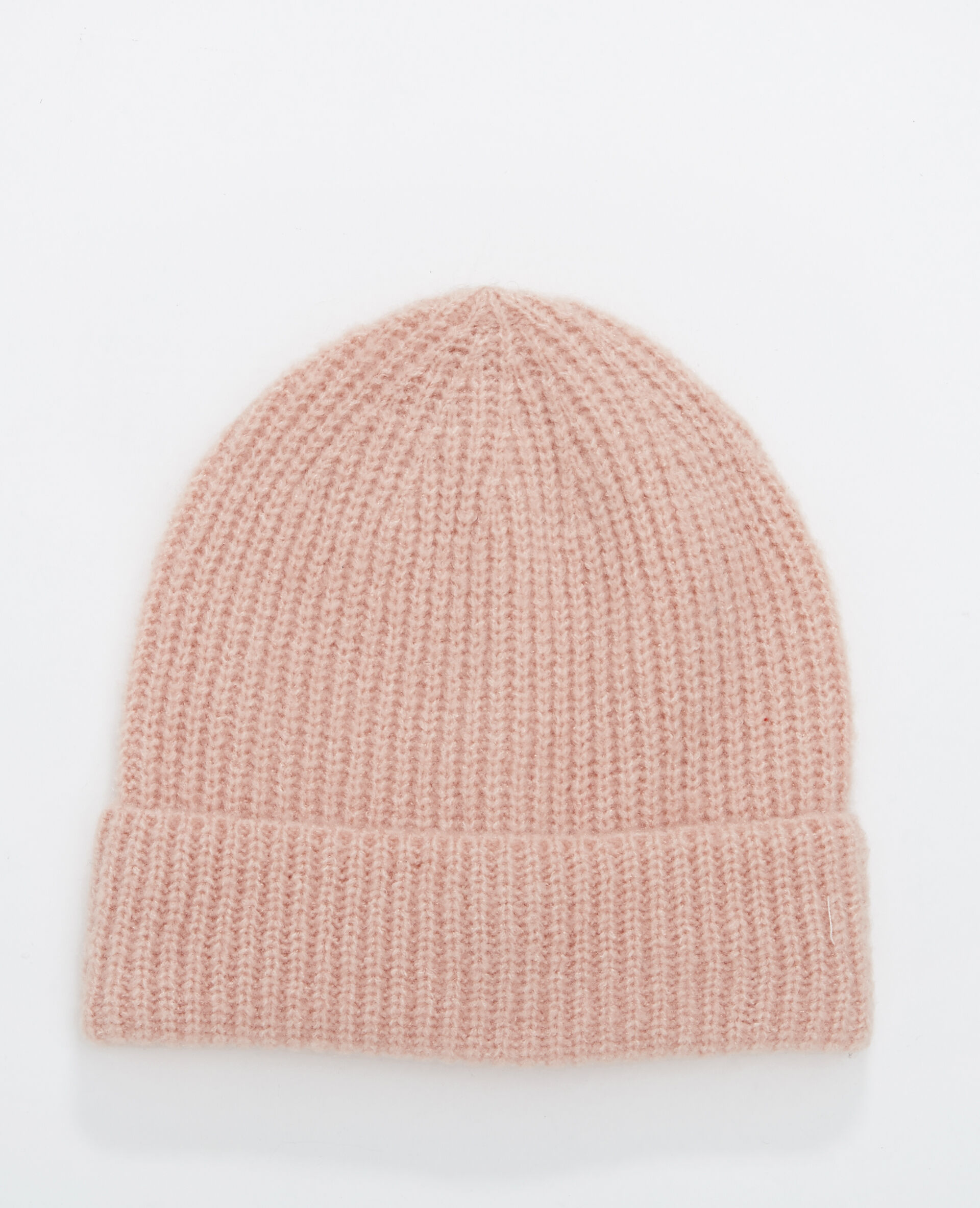 15e436bffd7  bonnet à revers femme couleur rose pimkie mode femme