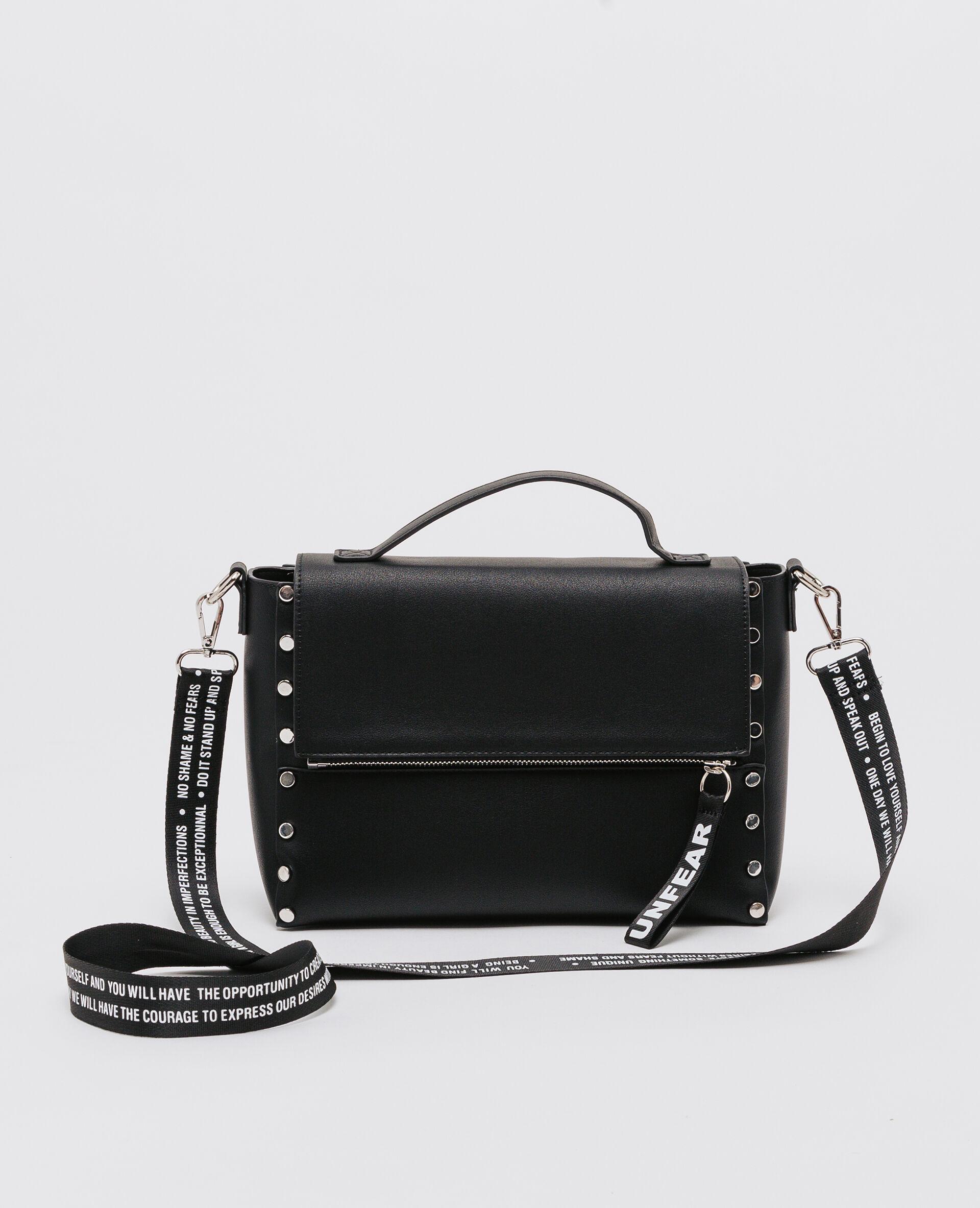 sac cartable clouté femme couleur noir pimkie mode femme 828710c0de1a