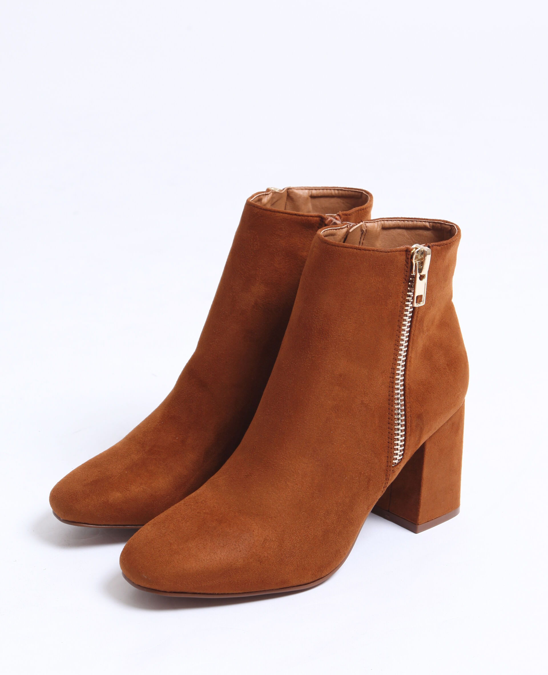 Bottines suédine Femme - Couleur marron - Taille 38 - PIMKIE - MODE FEMME