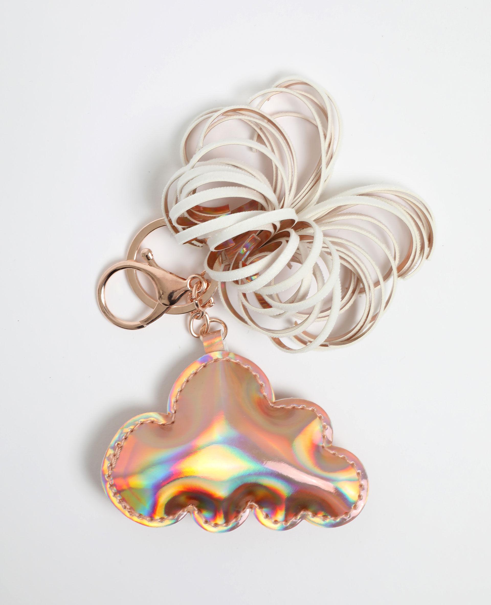 Porte-clés nuage Femme - Couleur doré - PIMKIE - MODE FEMME