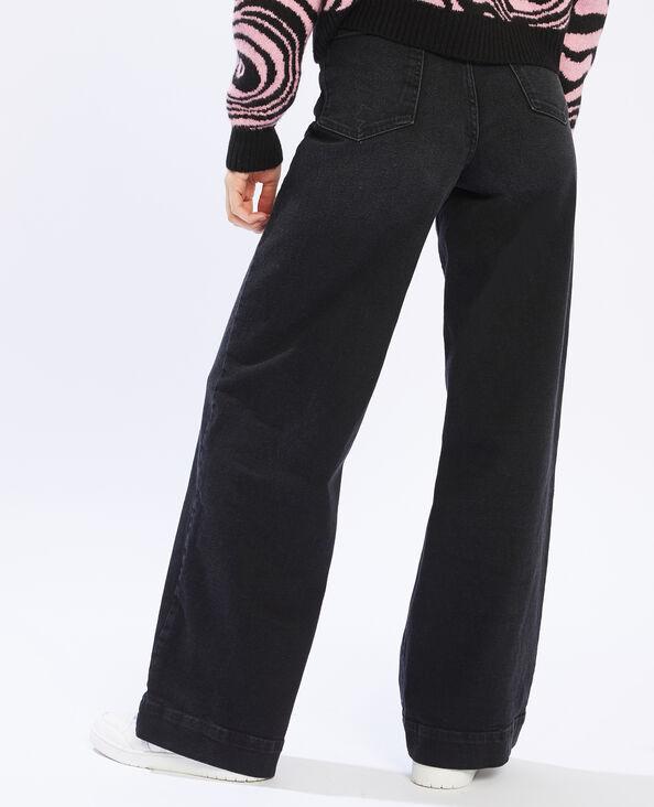 Jean large noir - Pimkie