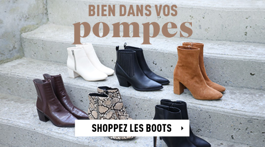Shoppez les boots