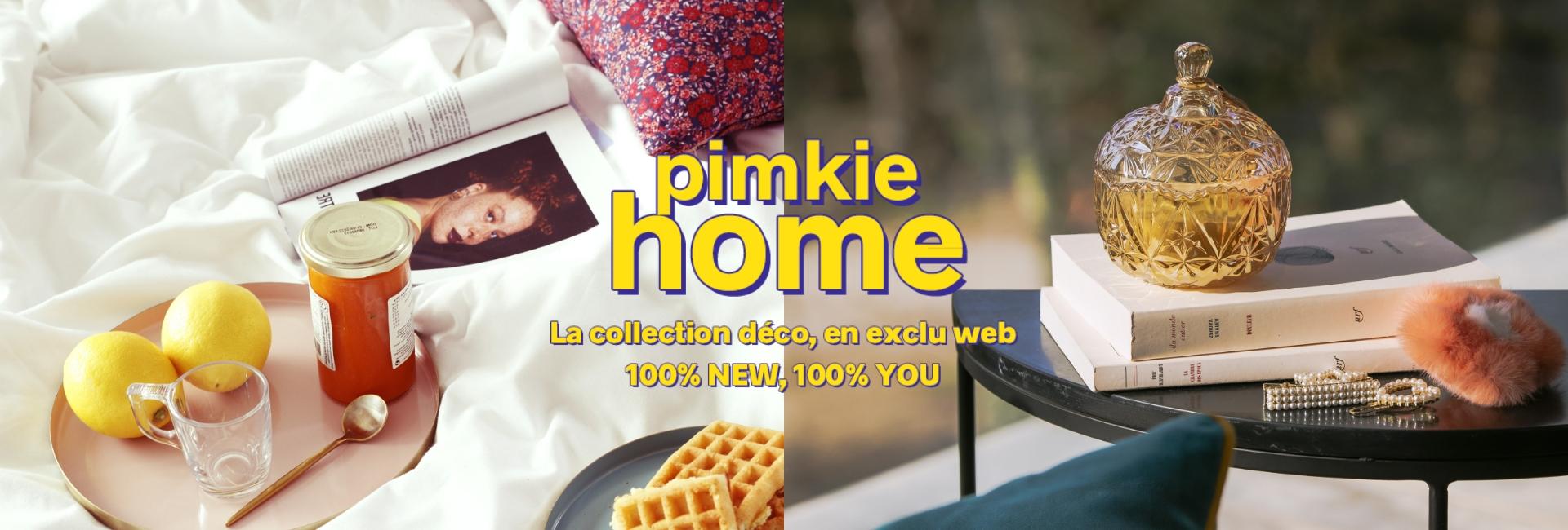 Pimkie Home - La collection déco, en exclu web 100% NEW, 100% YOU - Pimkie