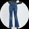 jeans denim femme