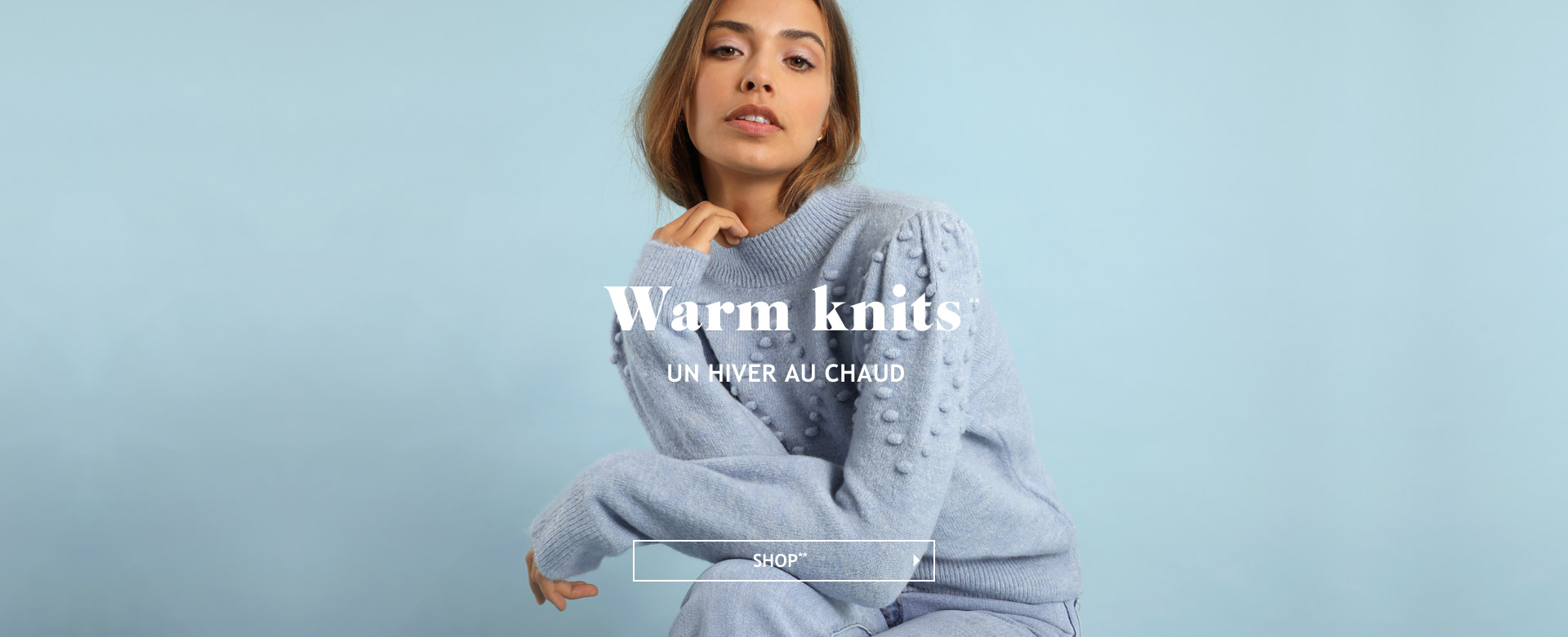 Warm knits**