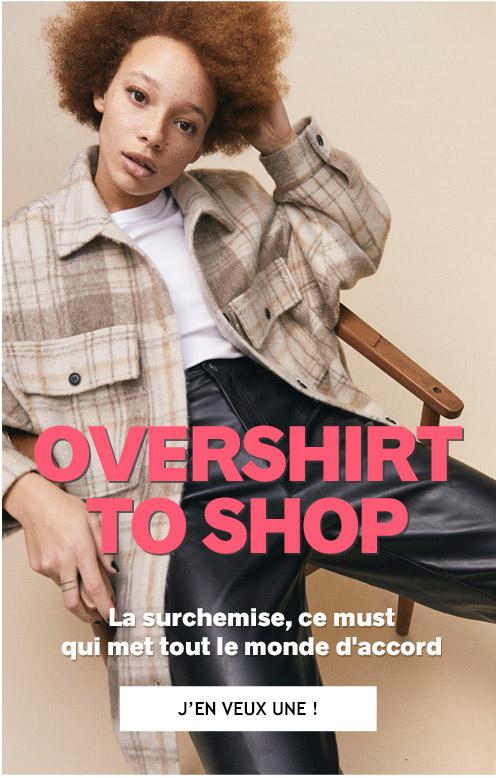 overshirt to shop**