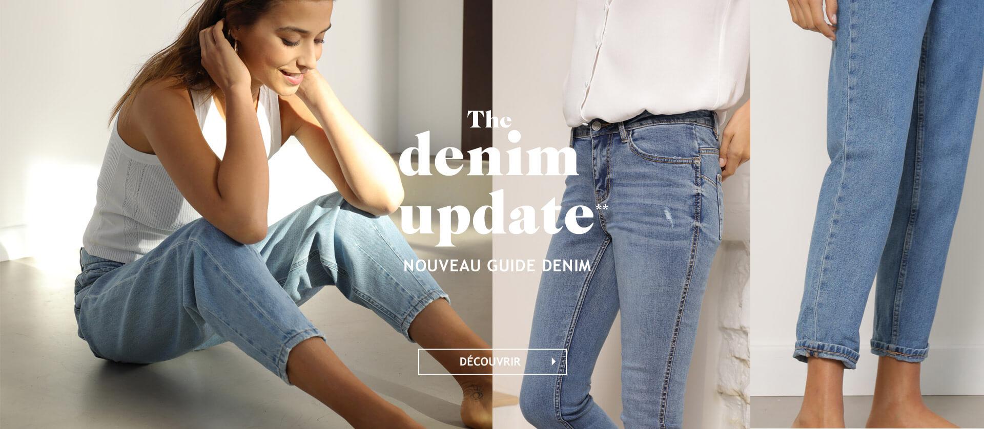 The denim update**