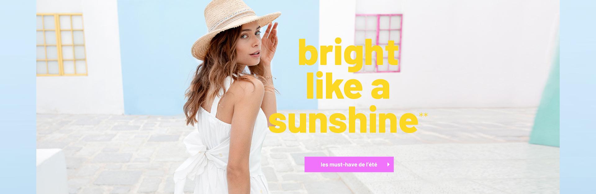 Bright like a sunshine**