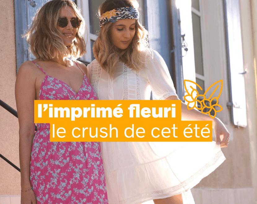 L'imprimé fleuri: le crush de cet été - Pimkie