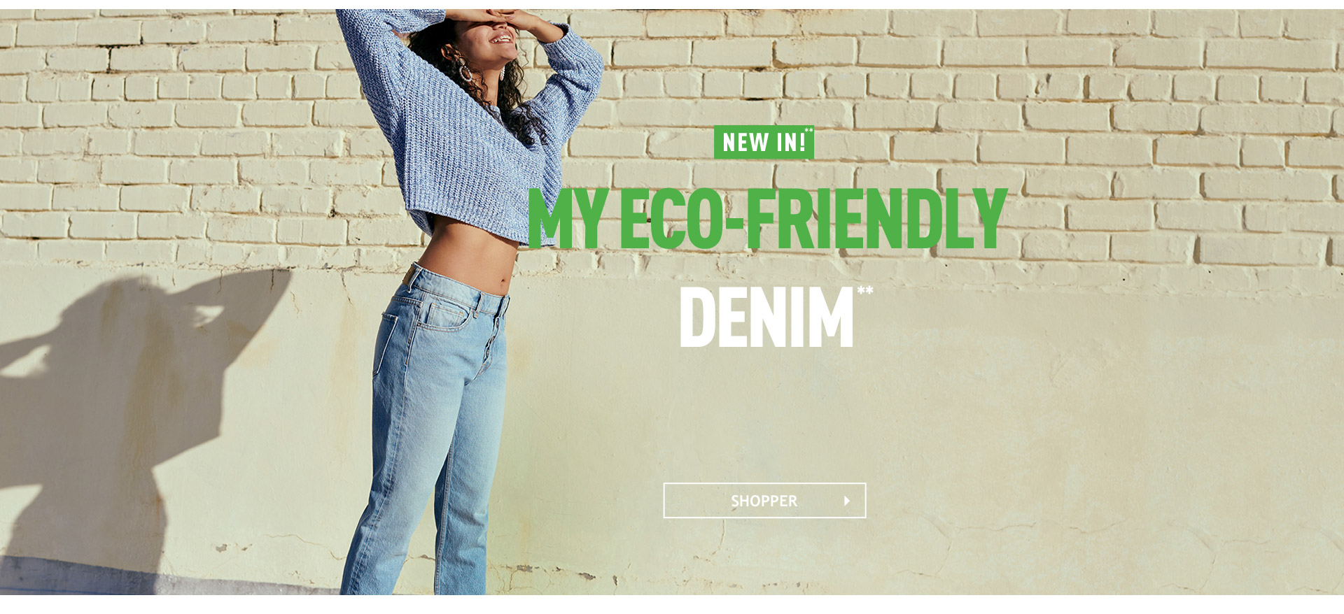 jeans recyclés