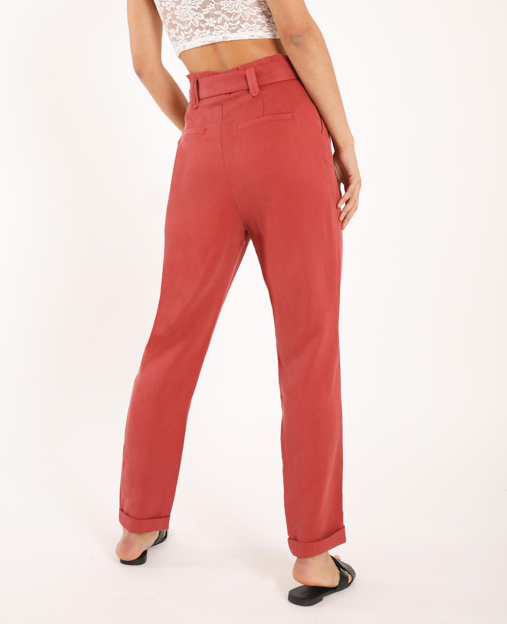 Pantalon carotte rose - Pimkie