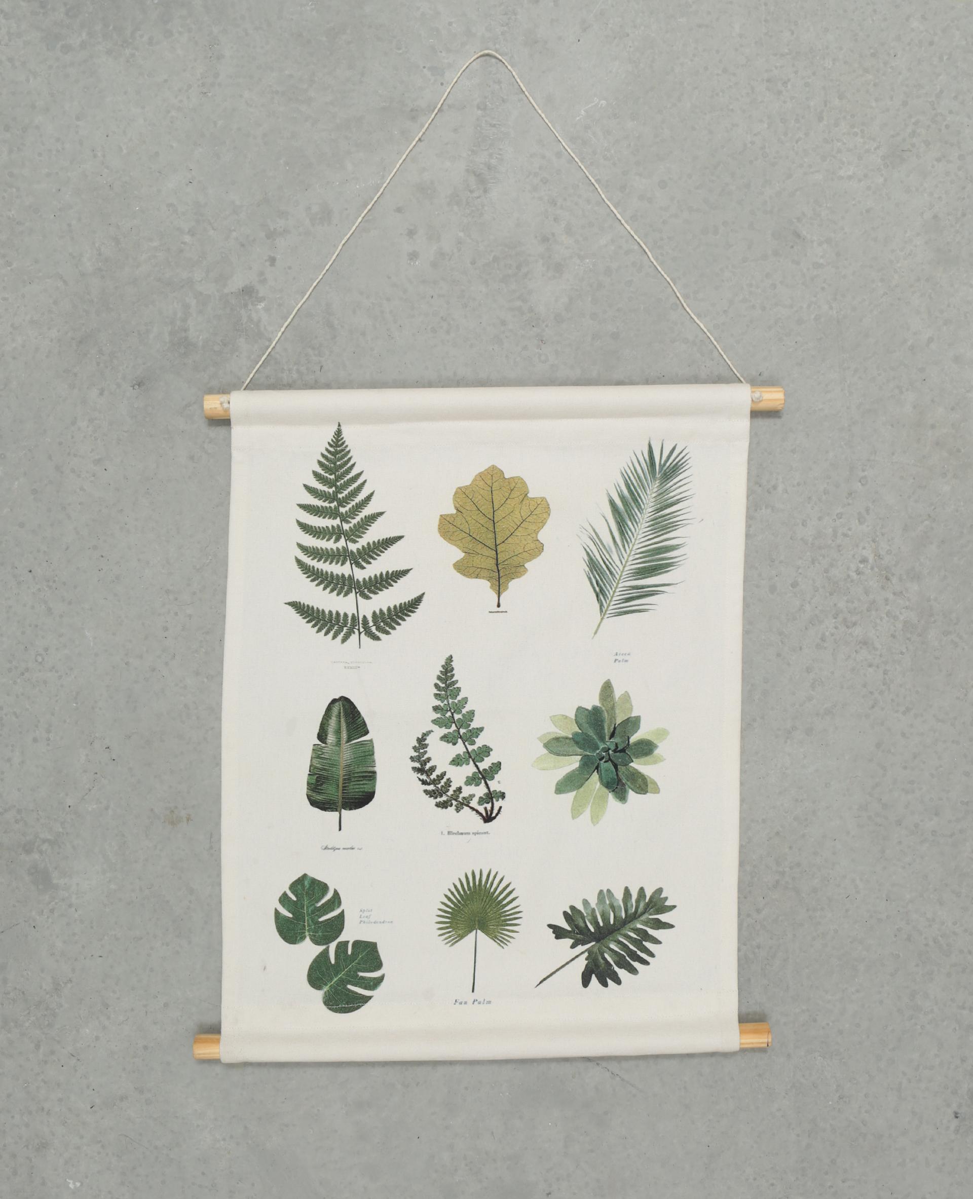 Panneau mural imprimé écru - Pimkie