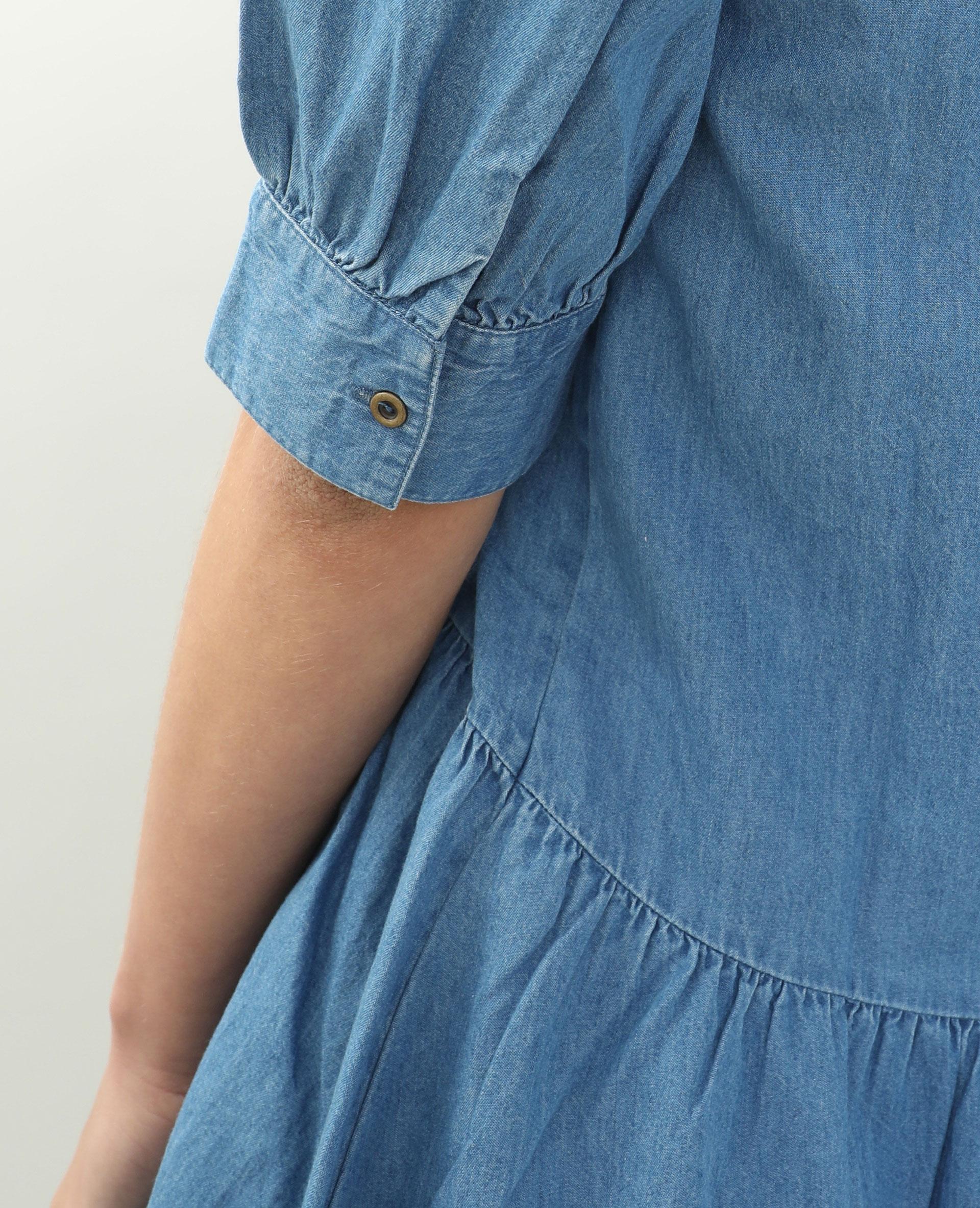 Robe en jean bleu délavé - Pimkie