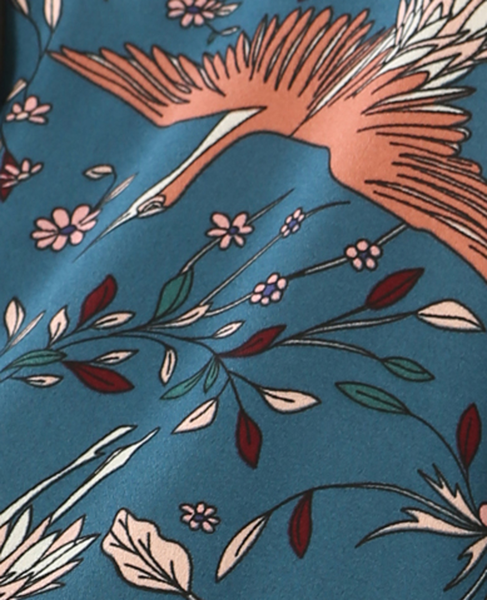 Chemise style pyjama bleu canard - Pimkie