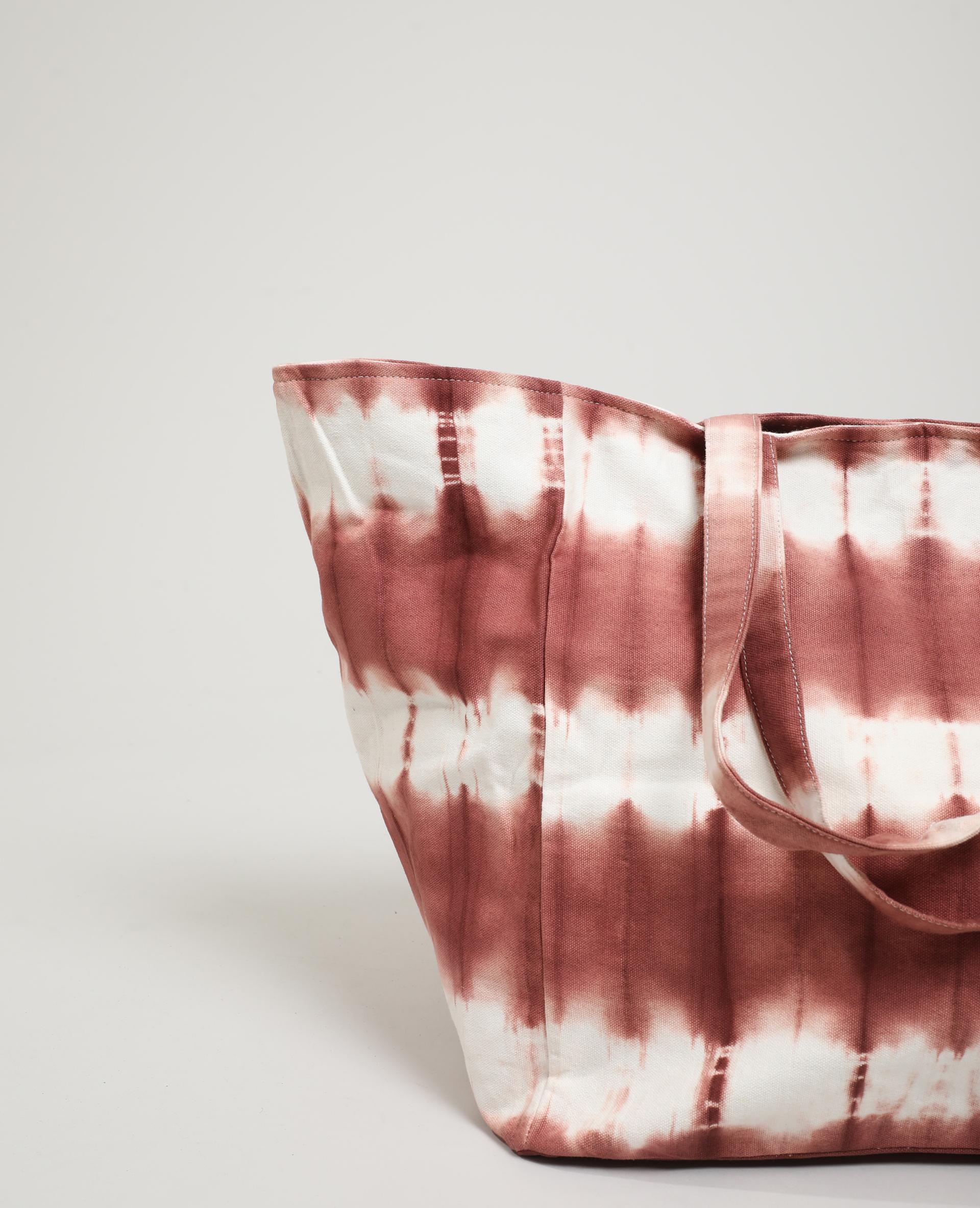 Sac cabas tie and dye rose - Pimkie