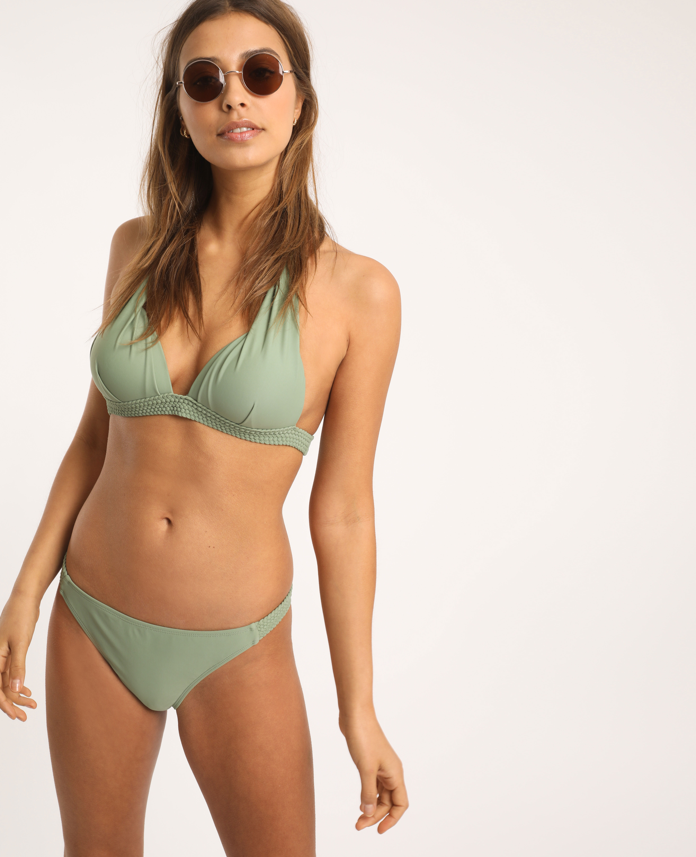 Haut de bikini triangle vert clair - Pimkie