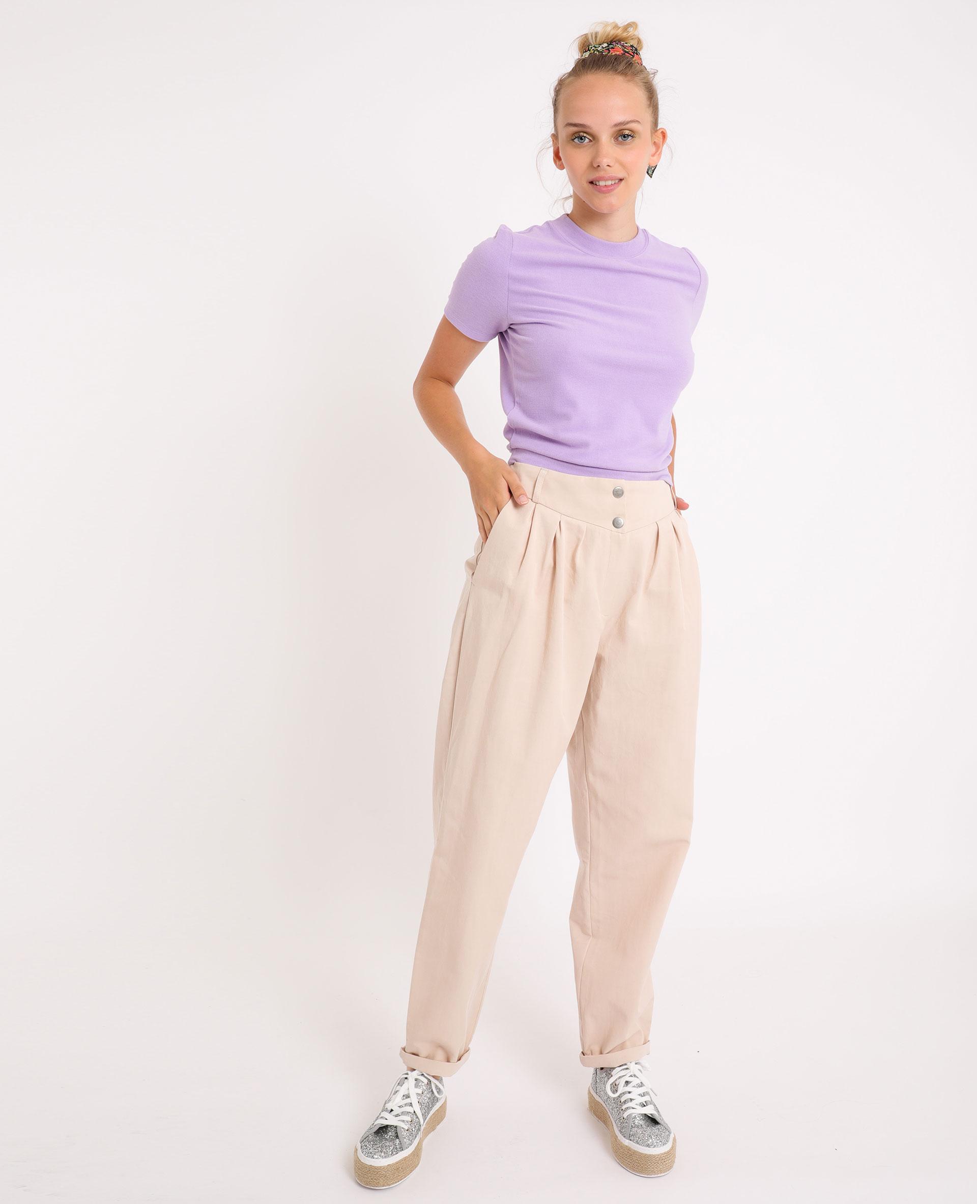 T-shirt doux lilas - Pimkie