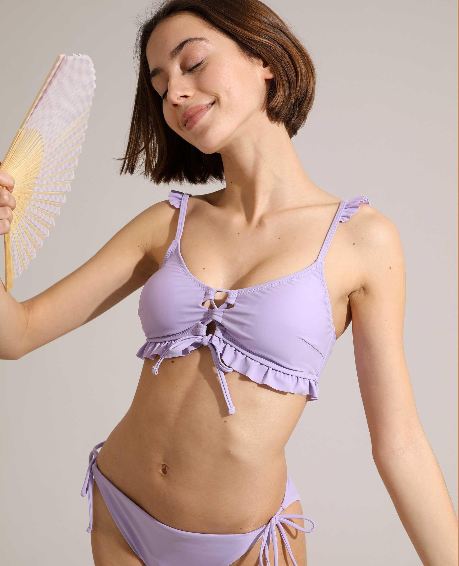 Bas de maillot de bain culotte rose - Pimkie