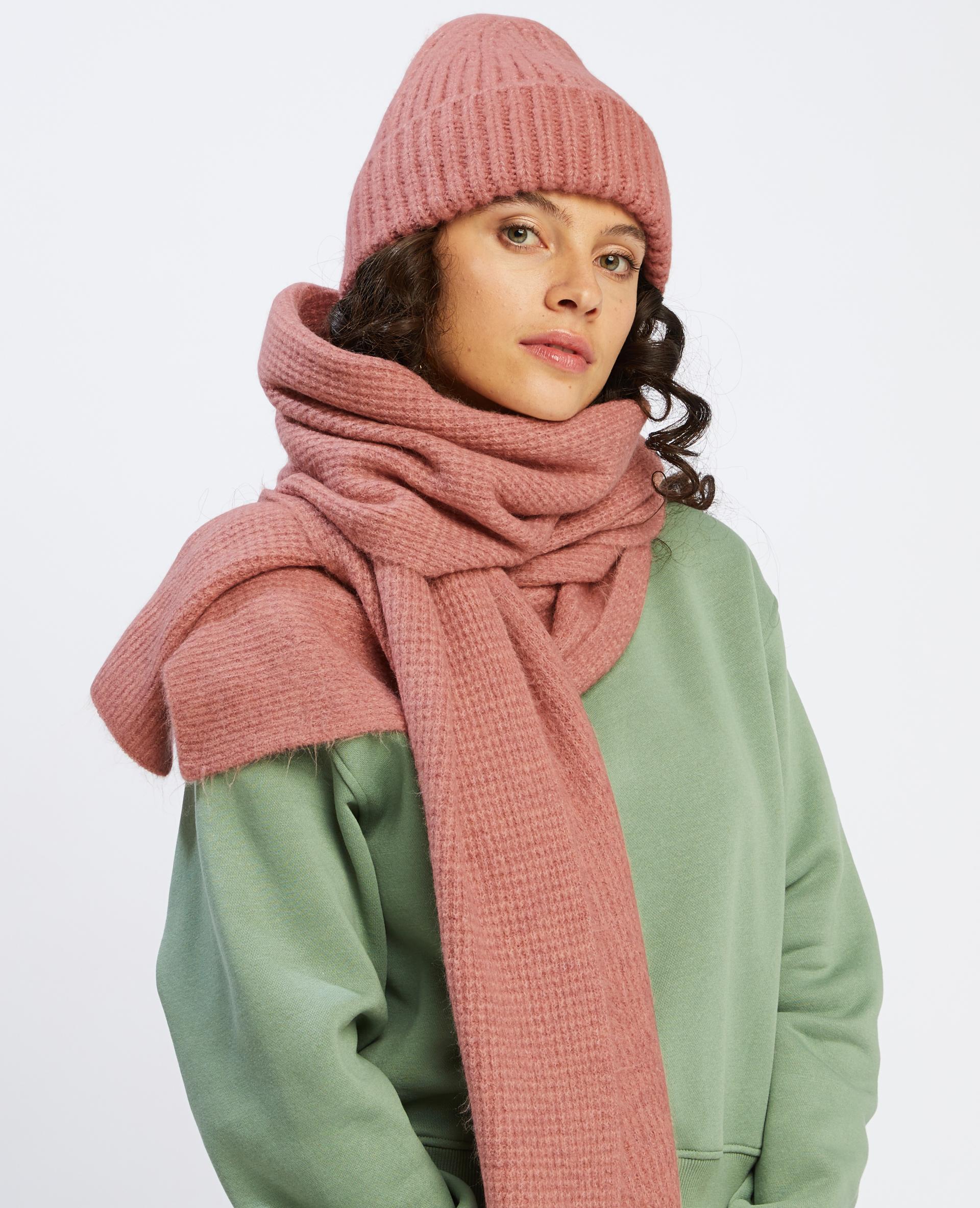 Bonnet rose poudré - Pimkie