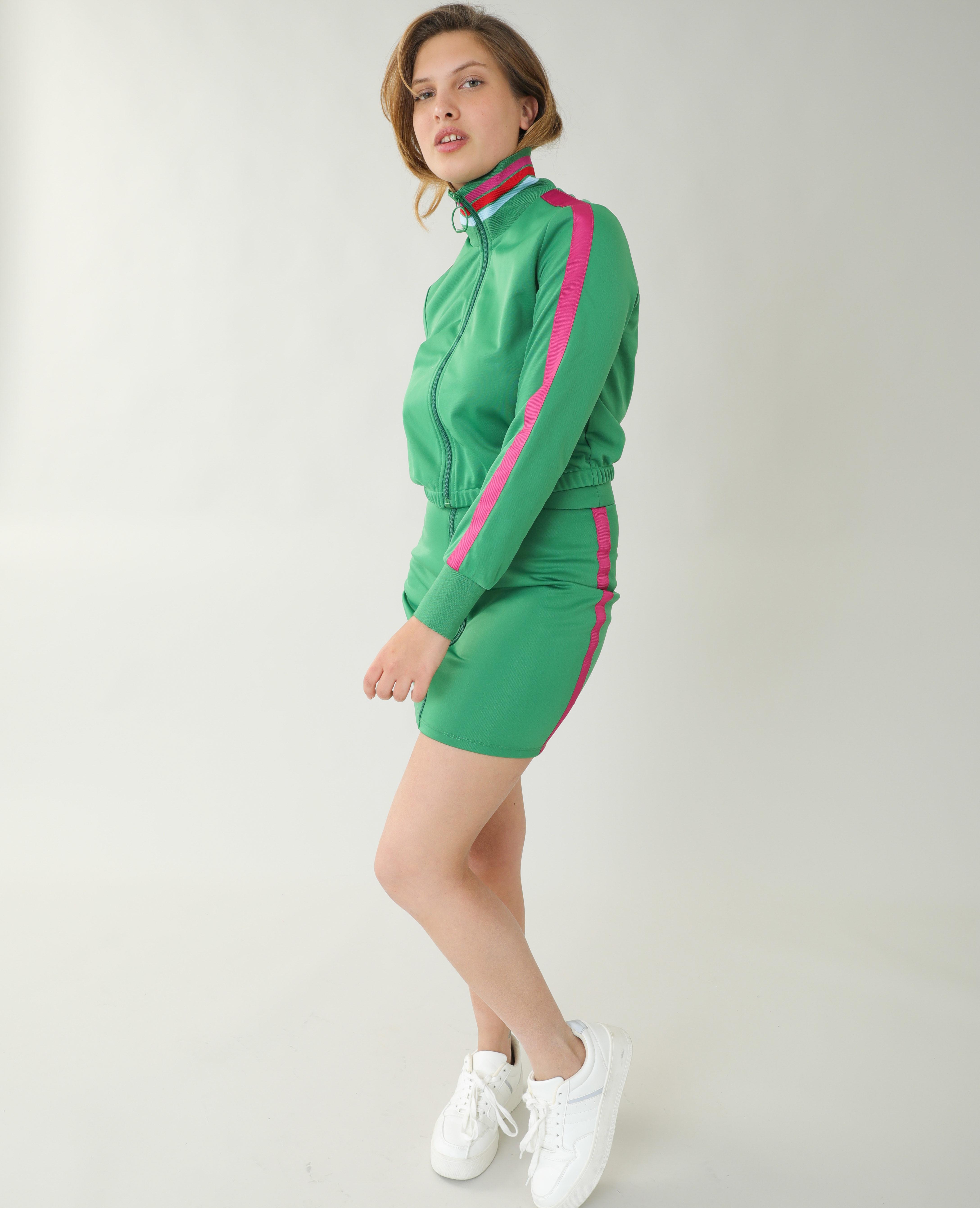 Veste de jogging vert - Pimkie
