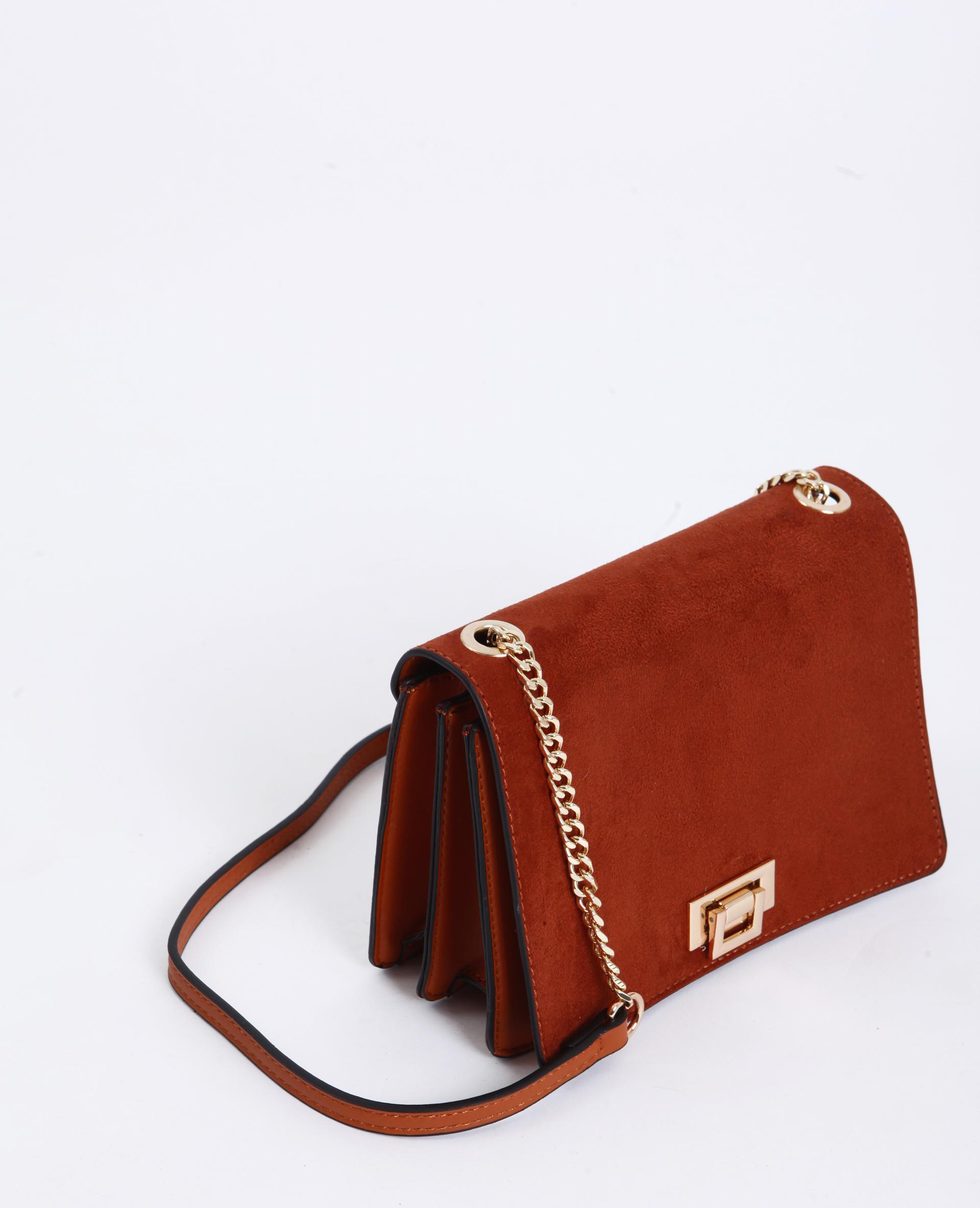 Petit sac à bandoulière marron - Pimkie