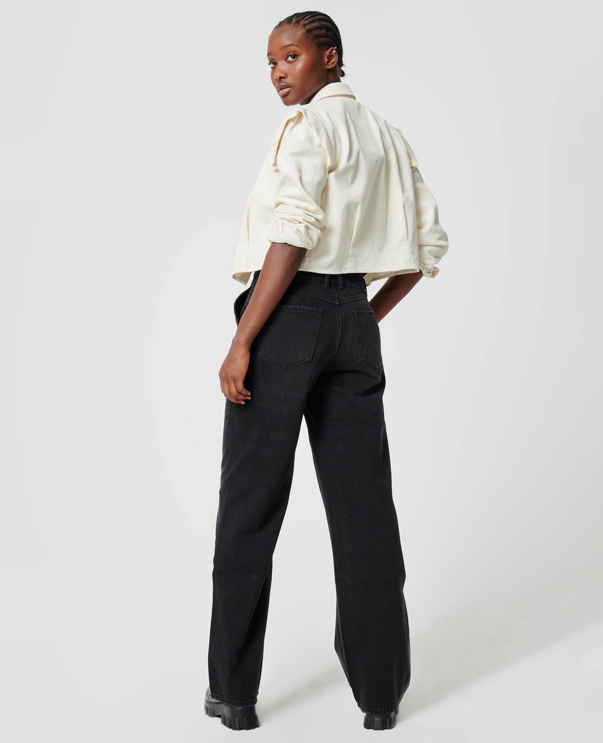 Jean baggy taille basse noir - Pimkie