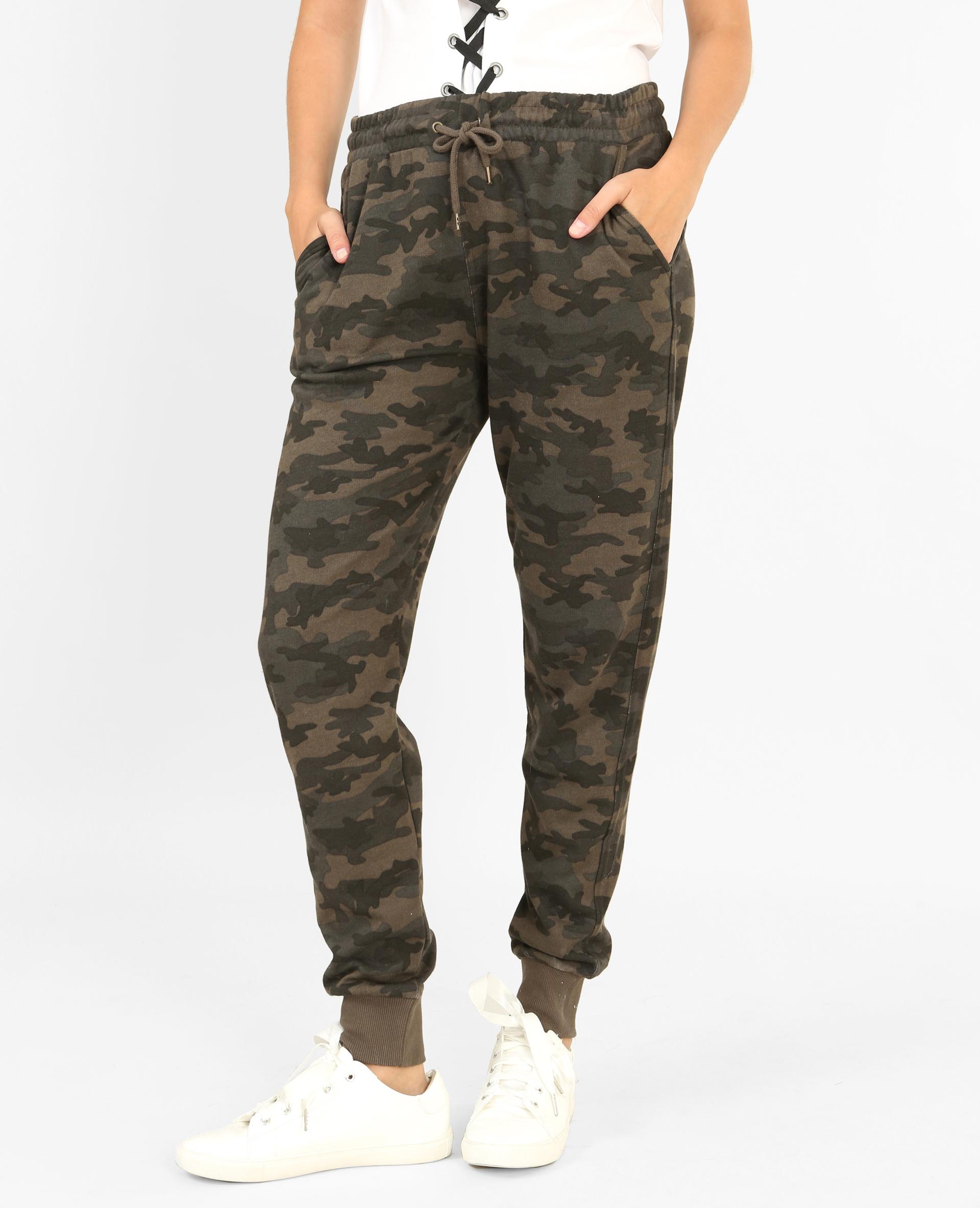 dc82bdcefbe Jogging camouflage vert - 140421C51I05