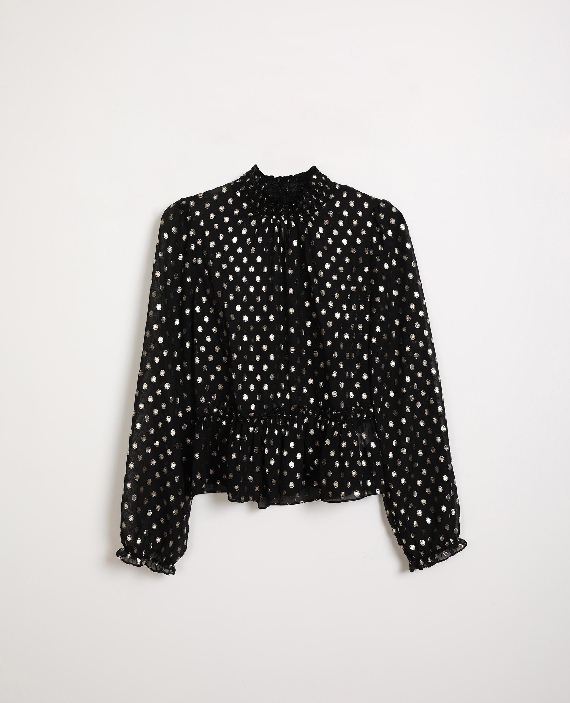 Blouse transparente noir - Pimkie