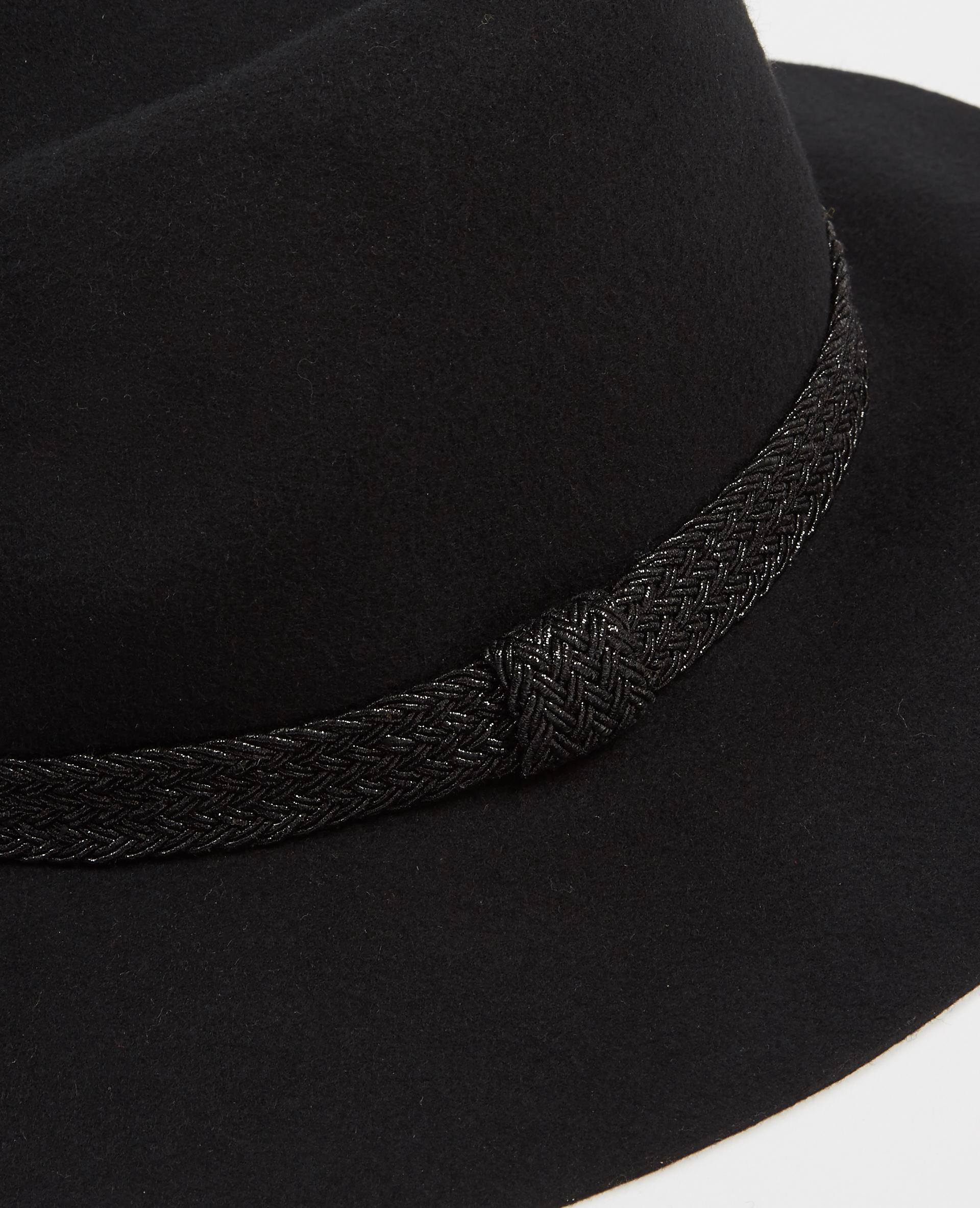 Chapeau fedora noir - Pimkie