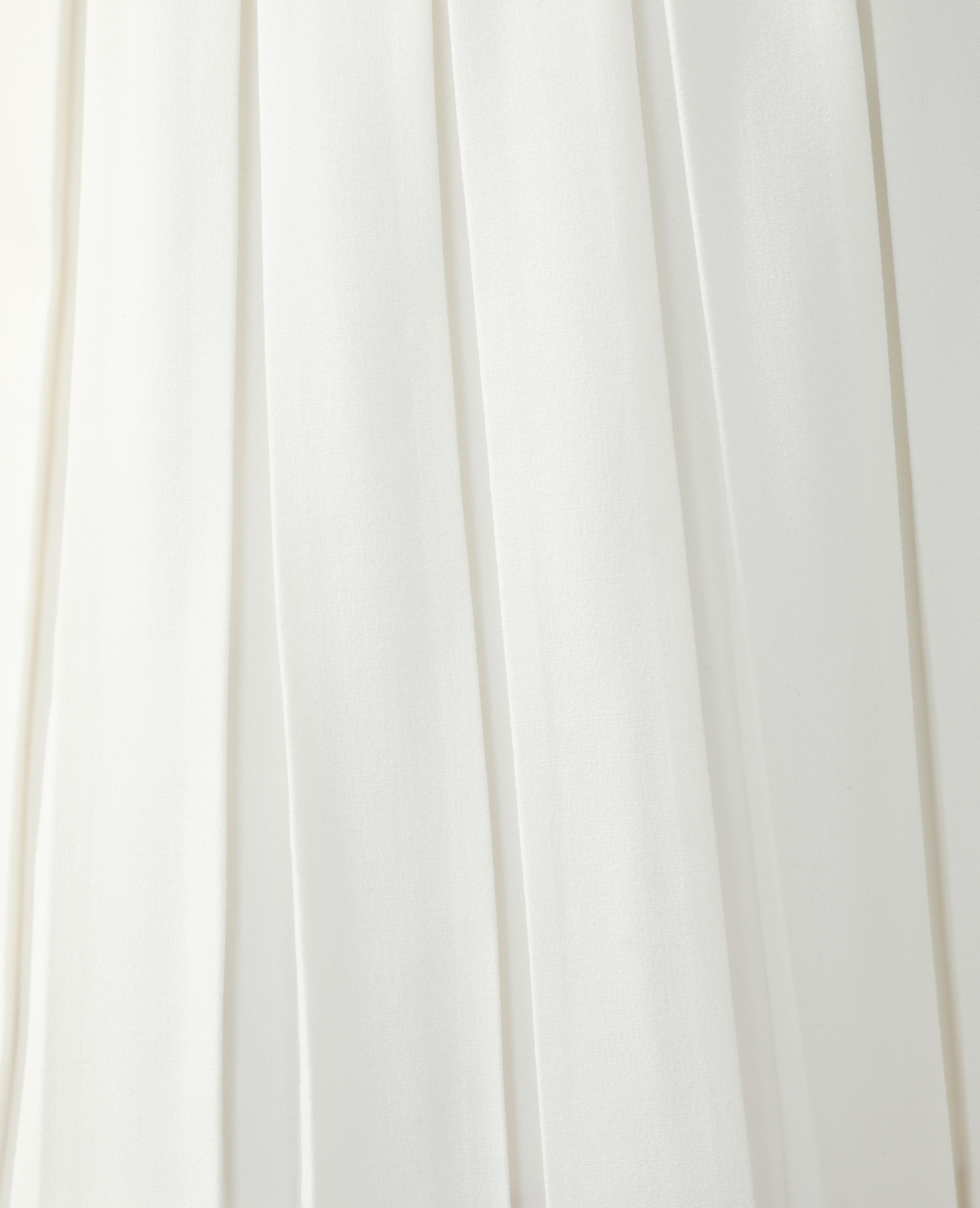 Jupe plissée blanc - Pimkie