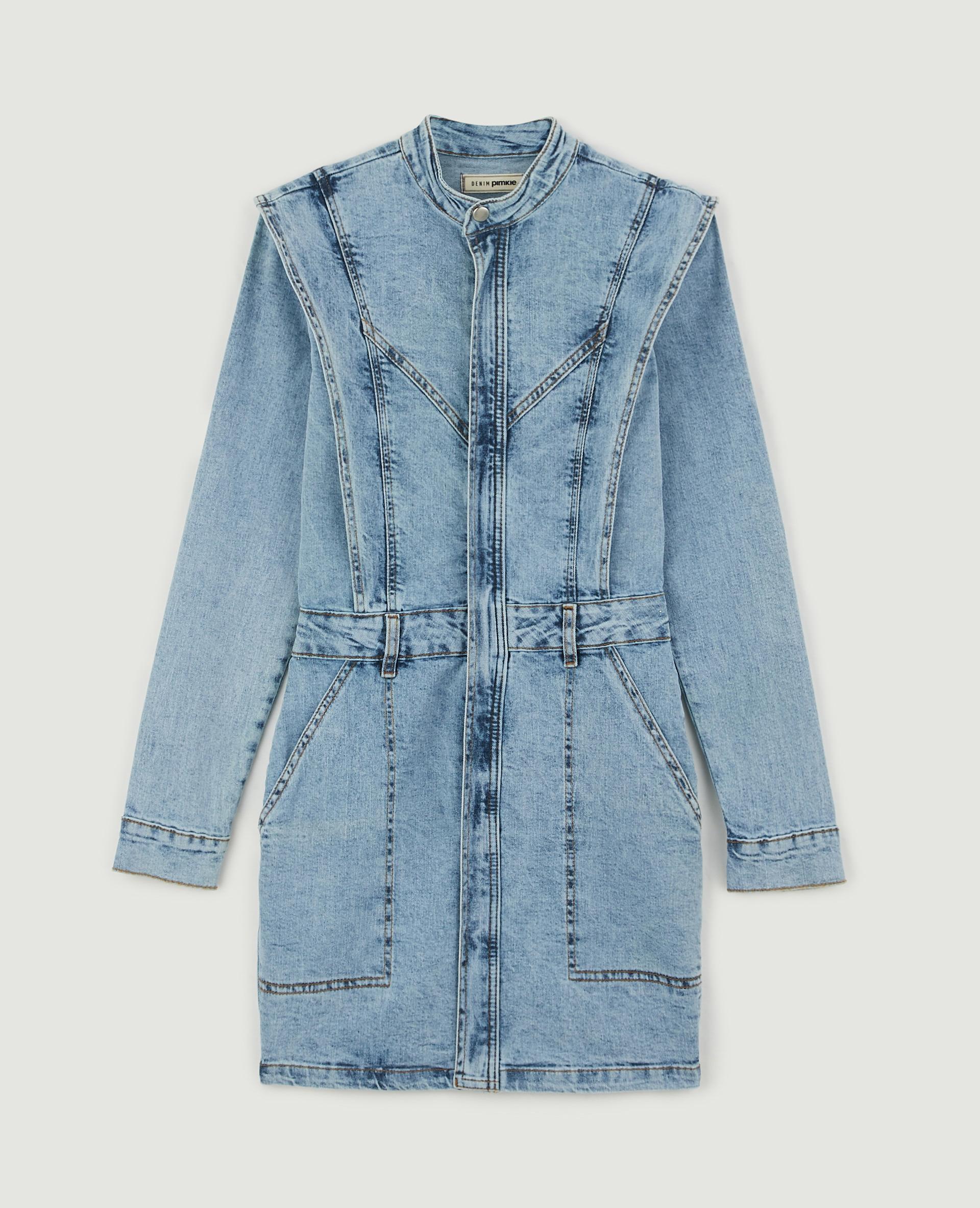 Robe en jean bleu - Pimkie