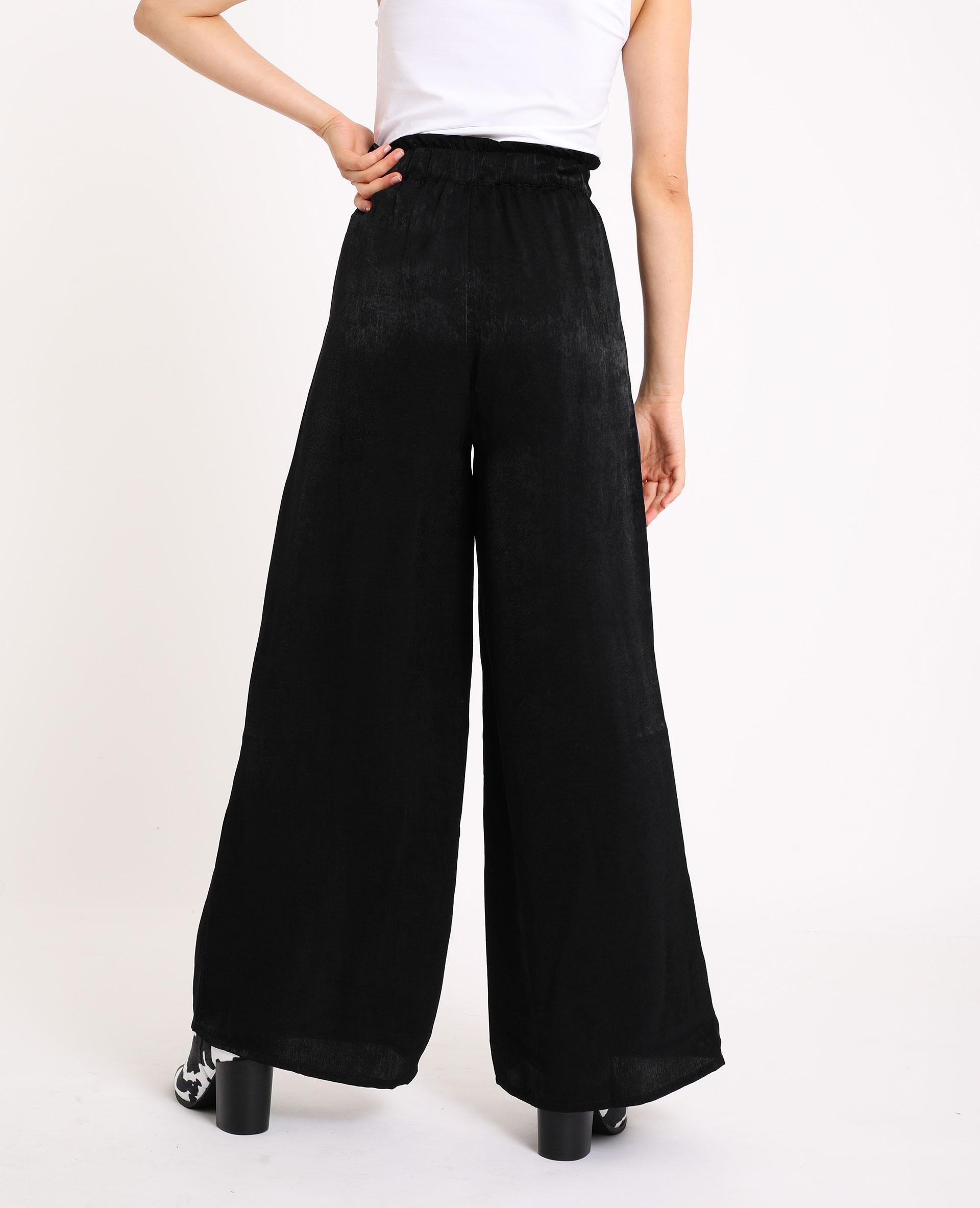 Pantalon large noir - Pimkie