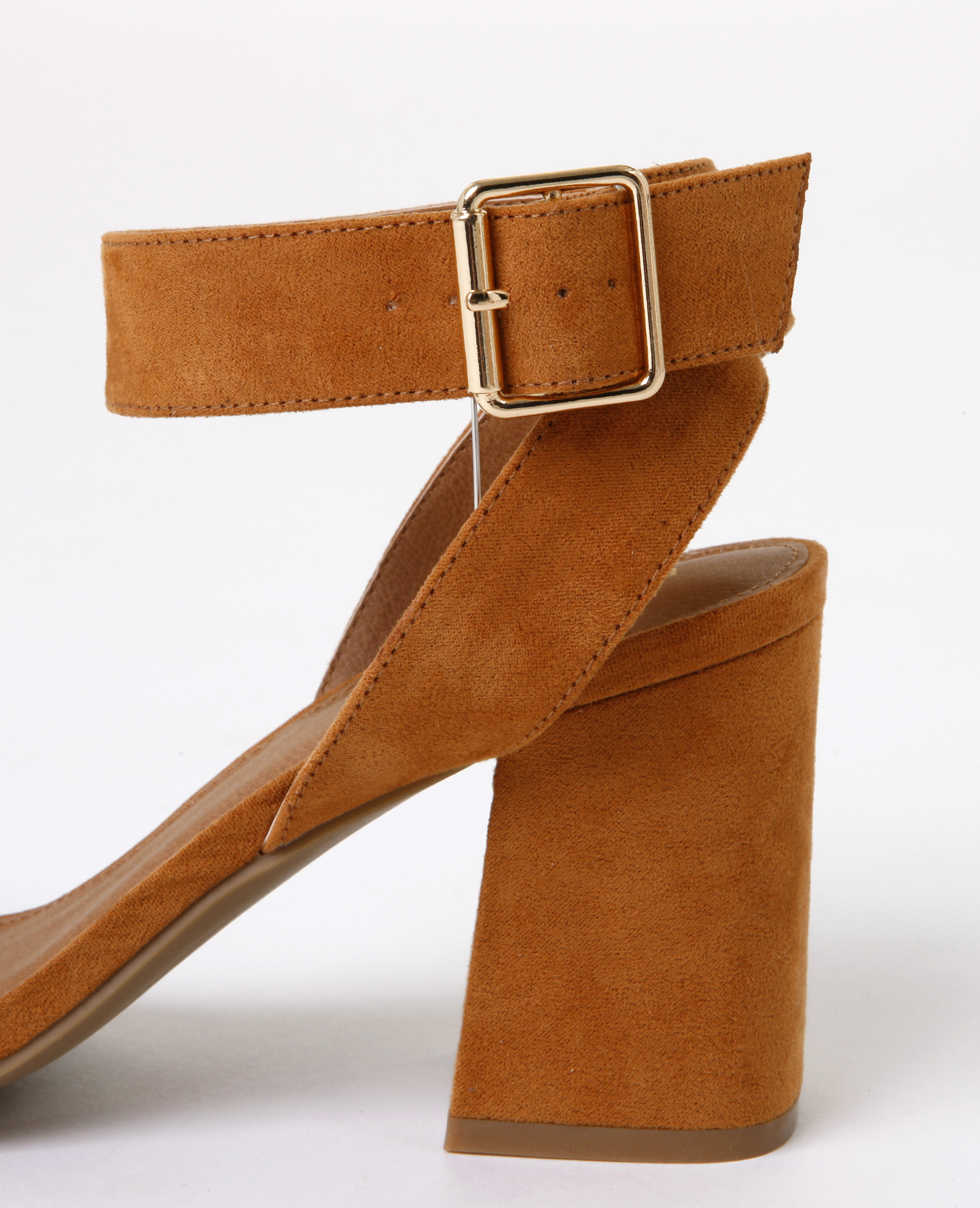 Sandales talons carrés marron 988097747A07 | Pimkie