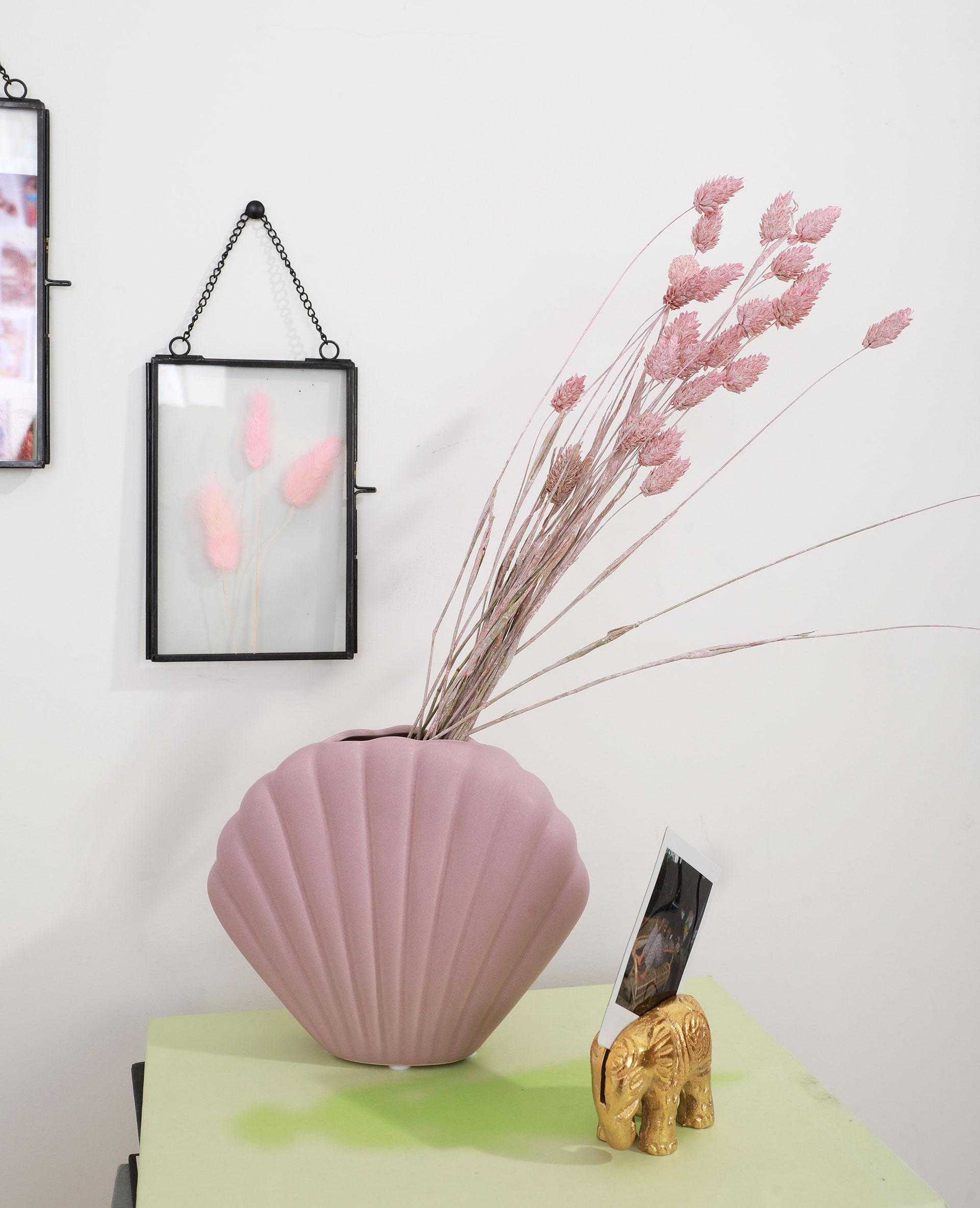 Vase coquillage petit lilas - Pimkie