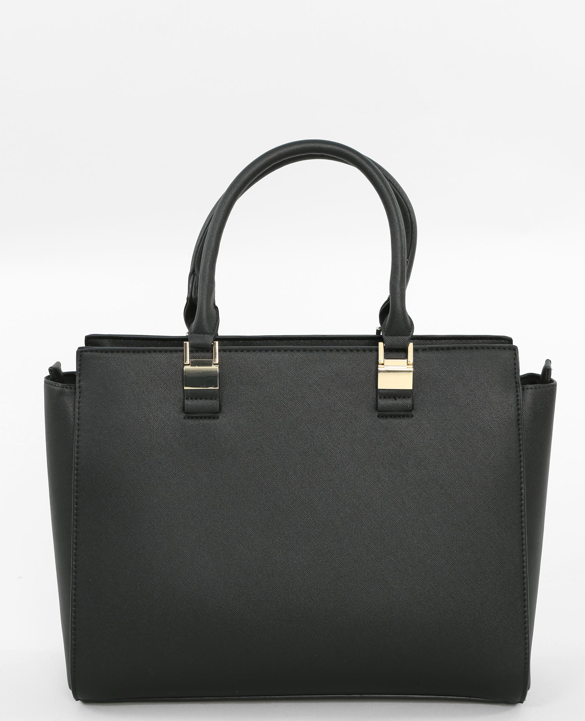 sac cabas attaches bijoux noir 983131899a08 pimkie. Black Bedroom Furniture Sets. Home Design Ideas