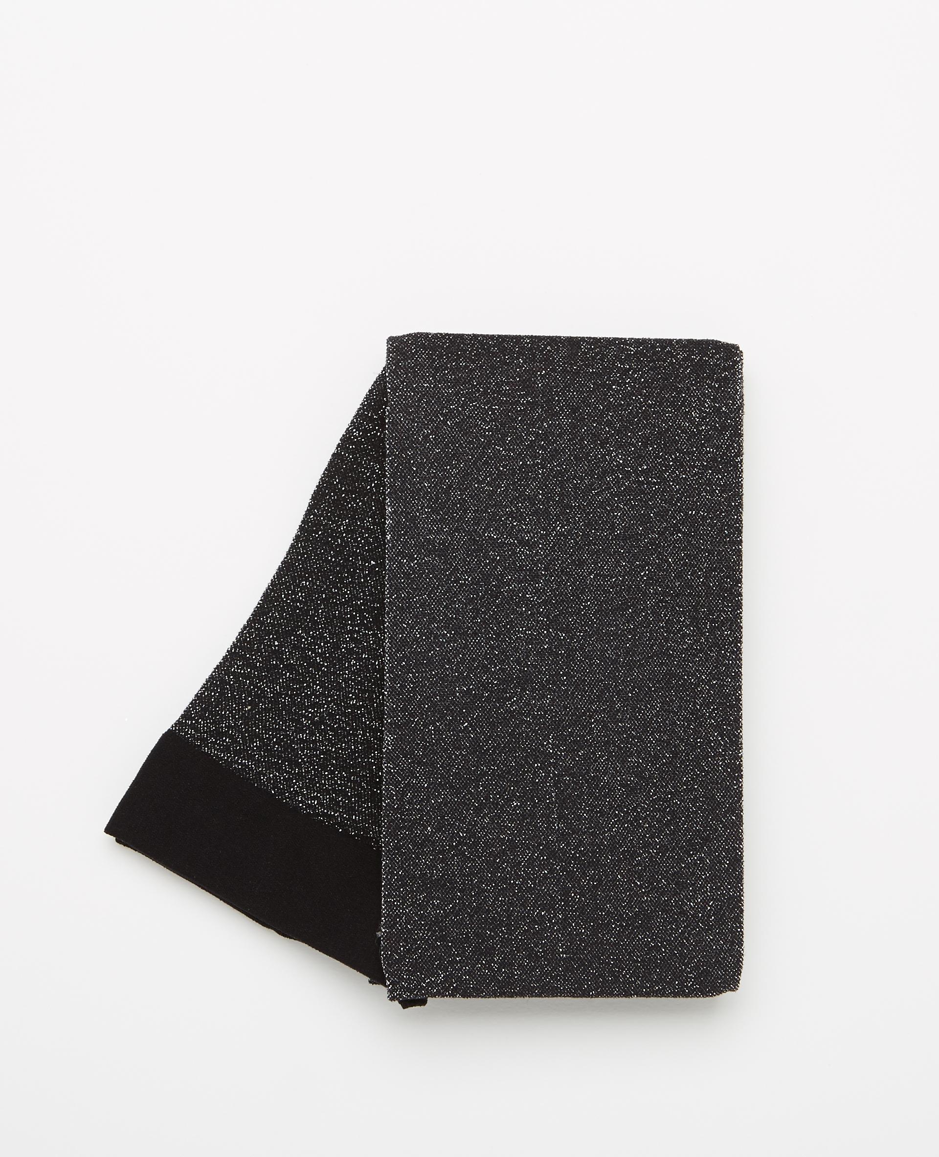 Collants lurex noir - Pimkie