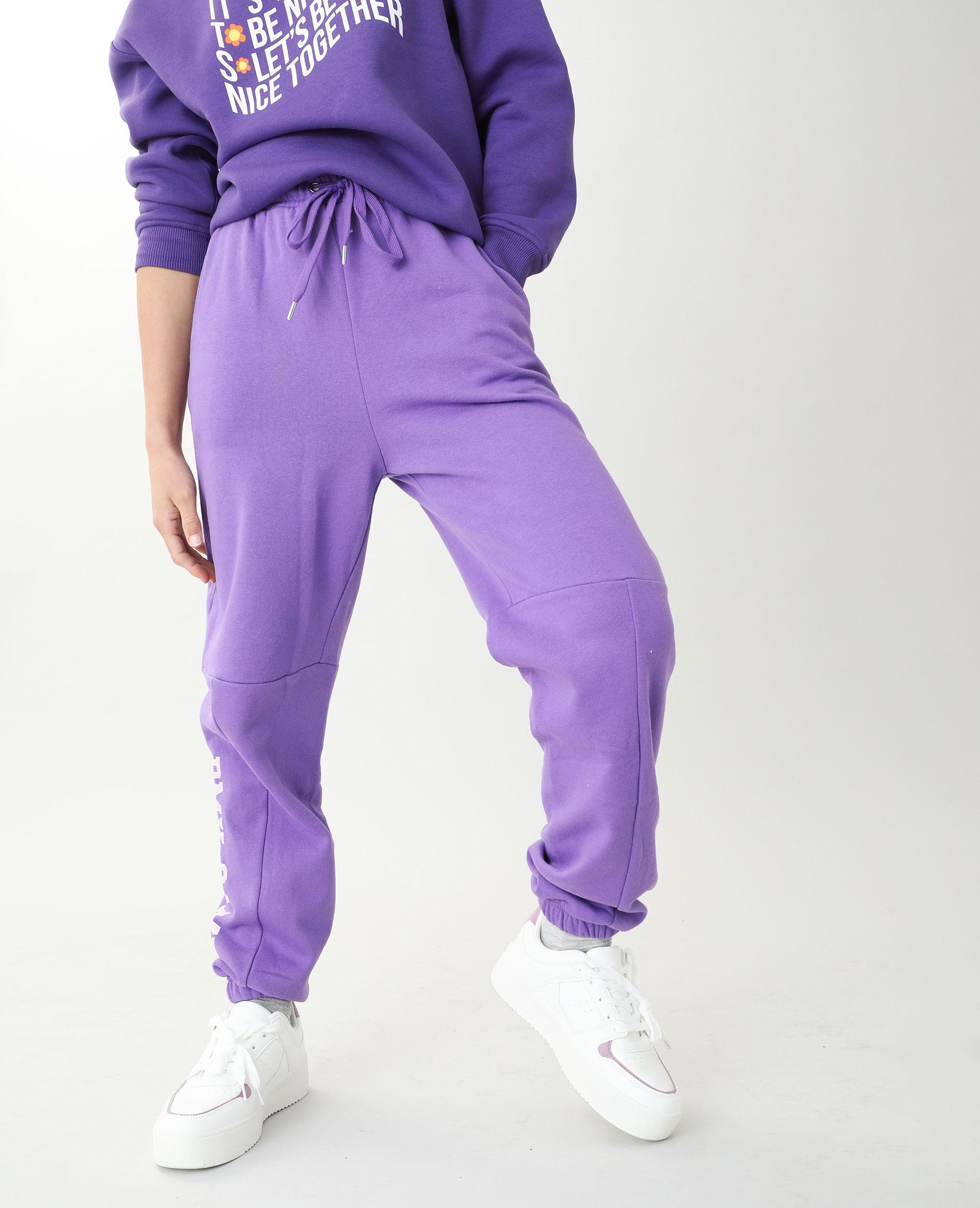 Jogging molleton violet - Pimkie