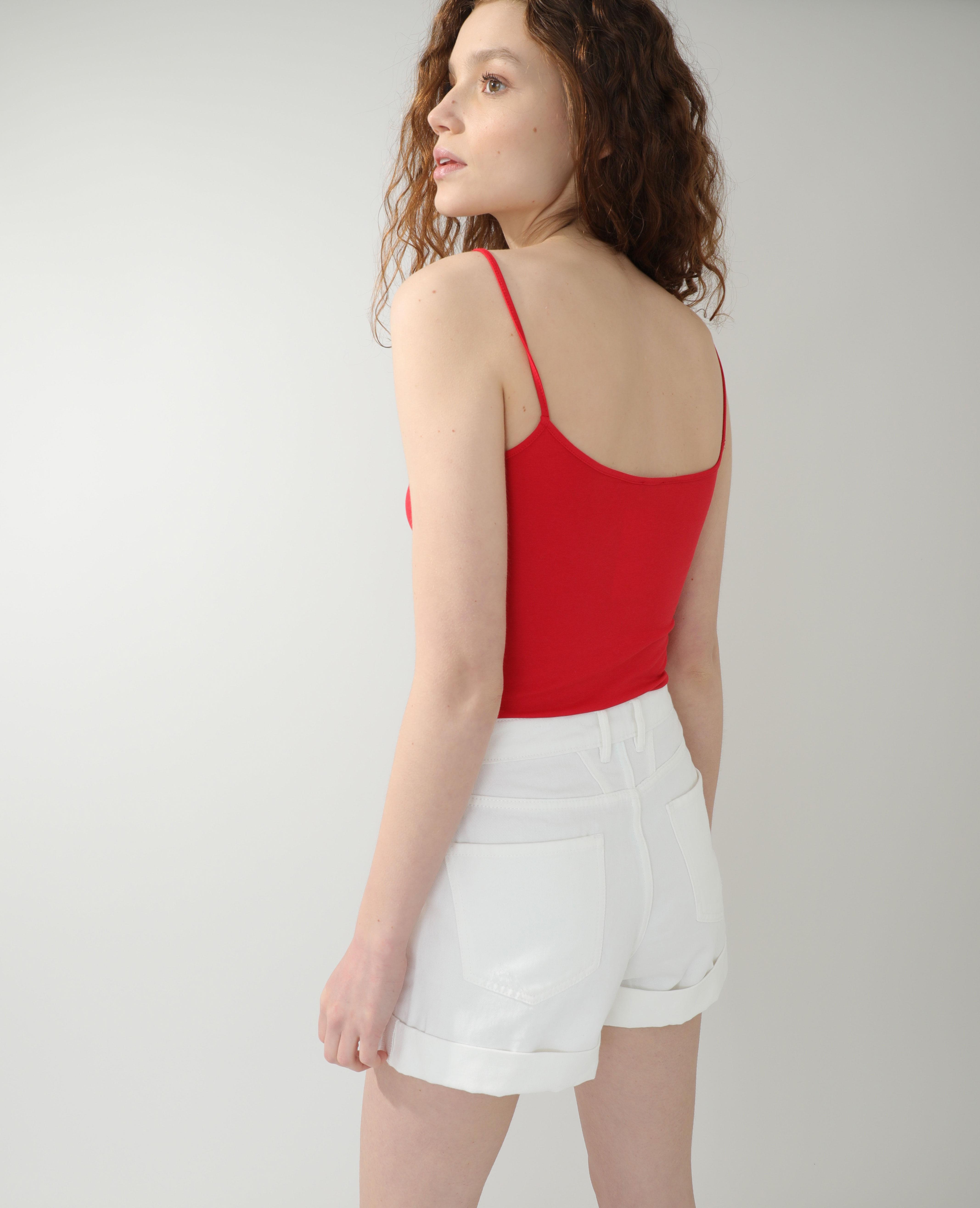 Débardeur basique rouge - Pimkie