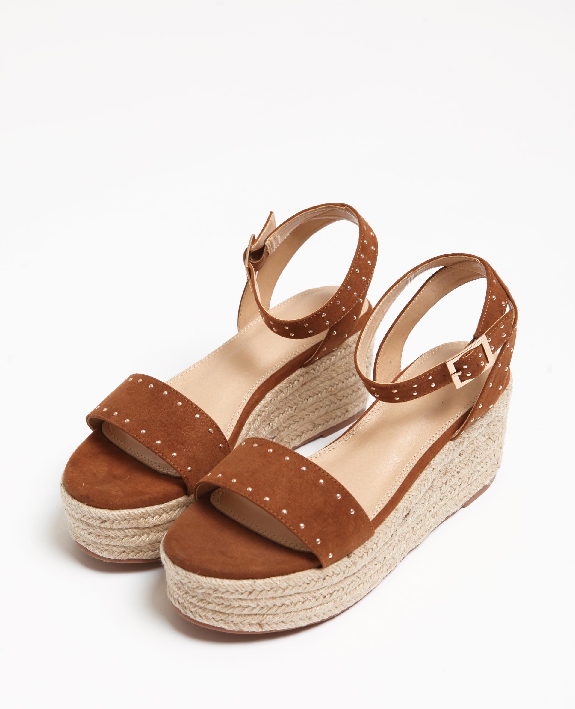 Sandales plateforme marron - Pimkie