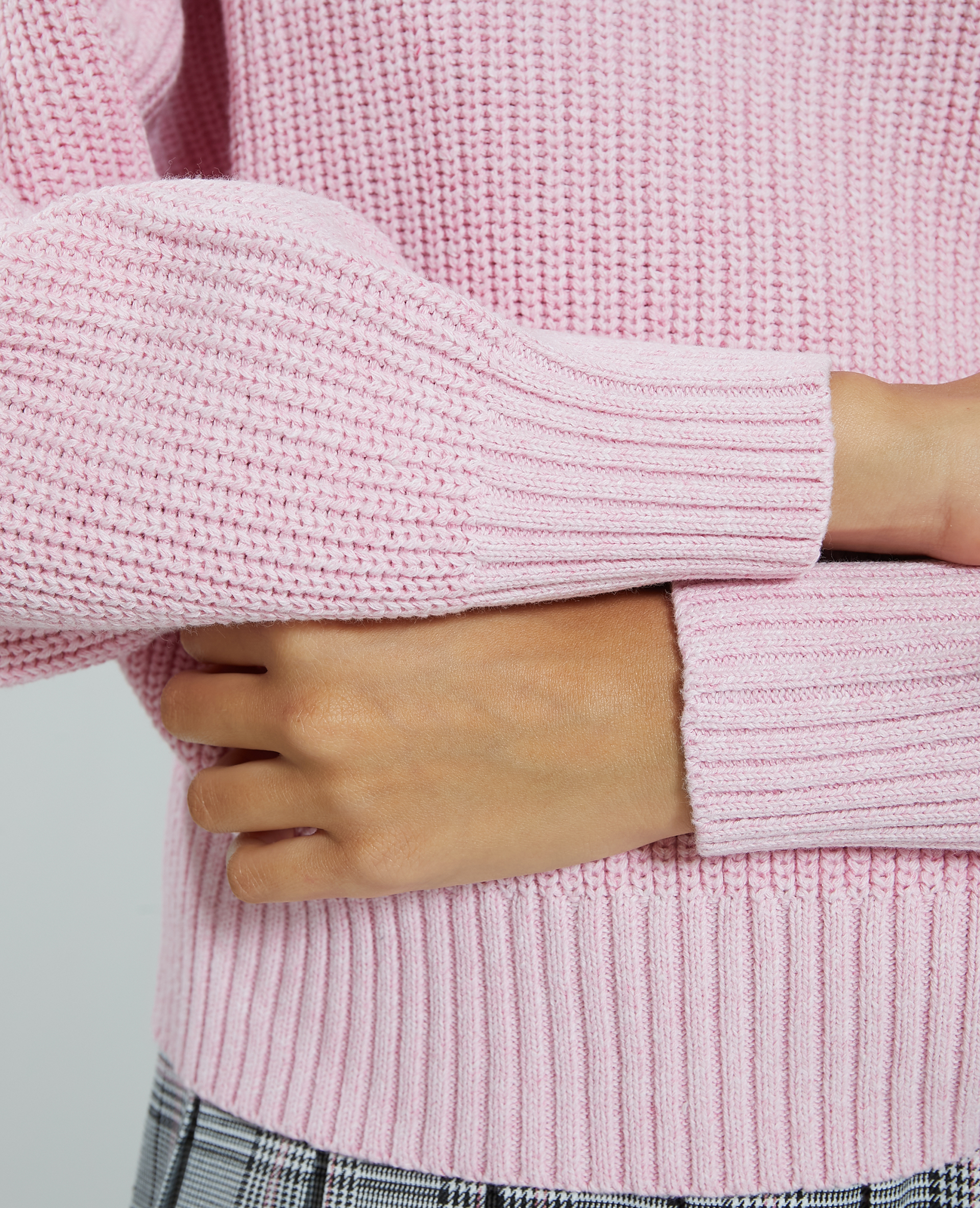 Pull maille rose - Pimkie