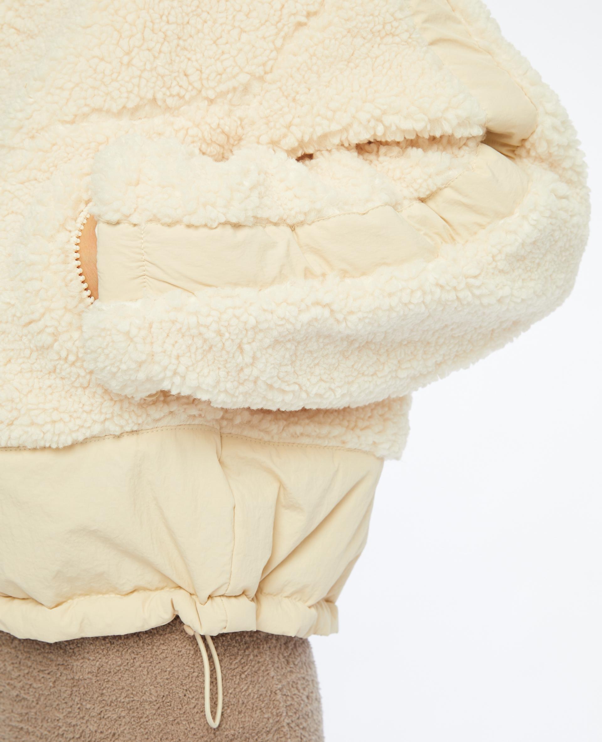 Blouson réversible blanc cassé - Pimkie