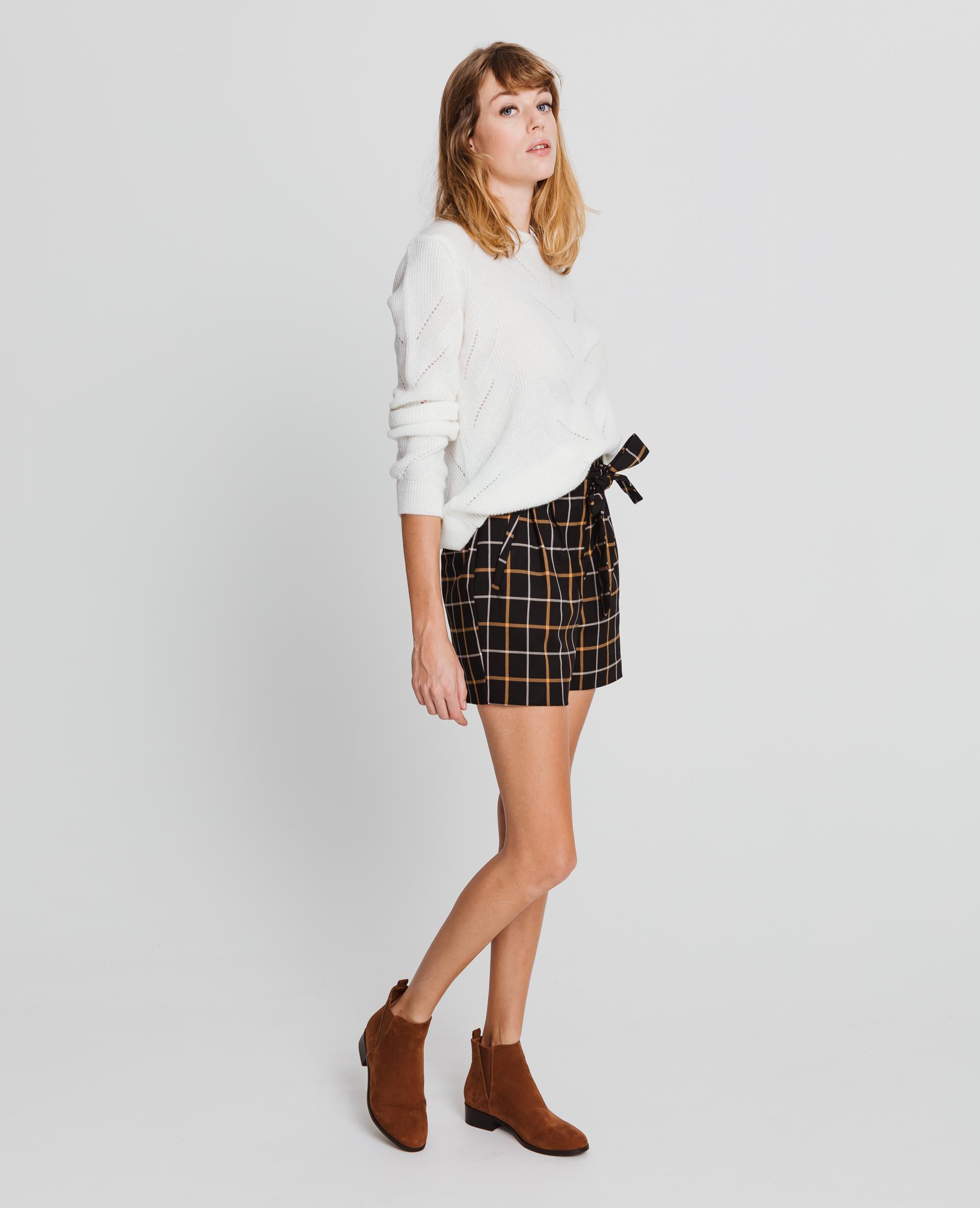 Short taille haute noir - Pimkie