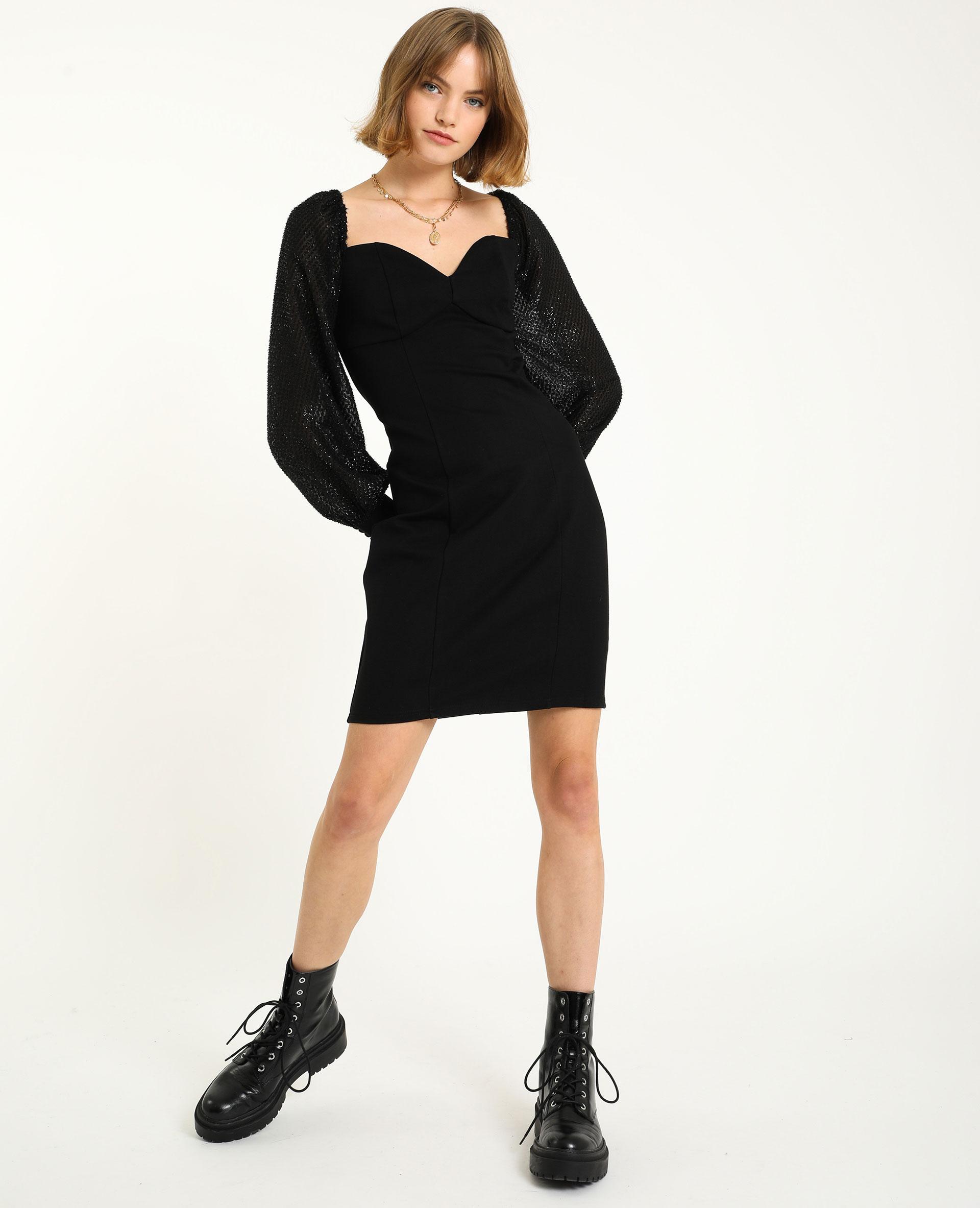 Robe courte noir - Pimkie