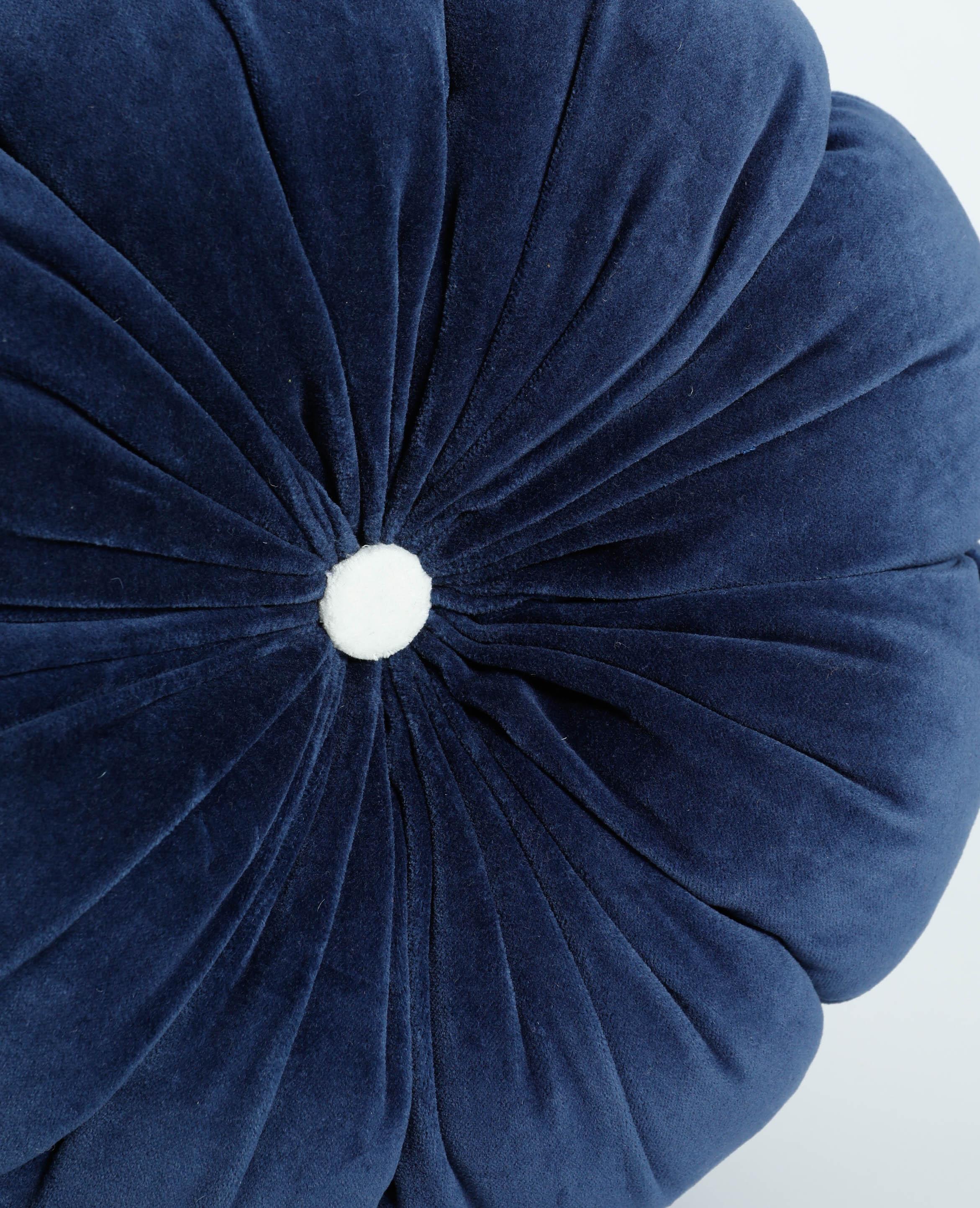 Coussin fleur bleu - Pimkie