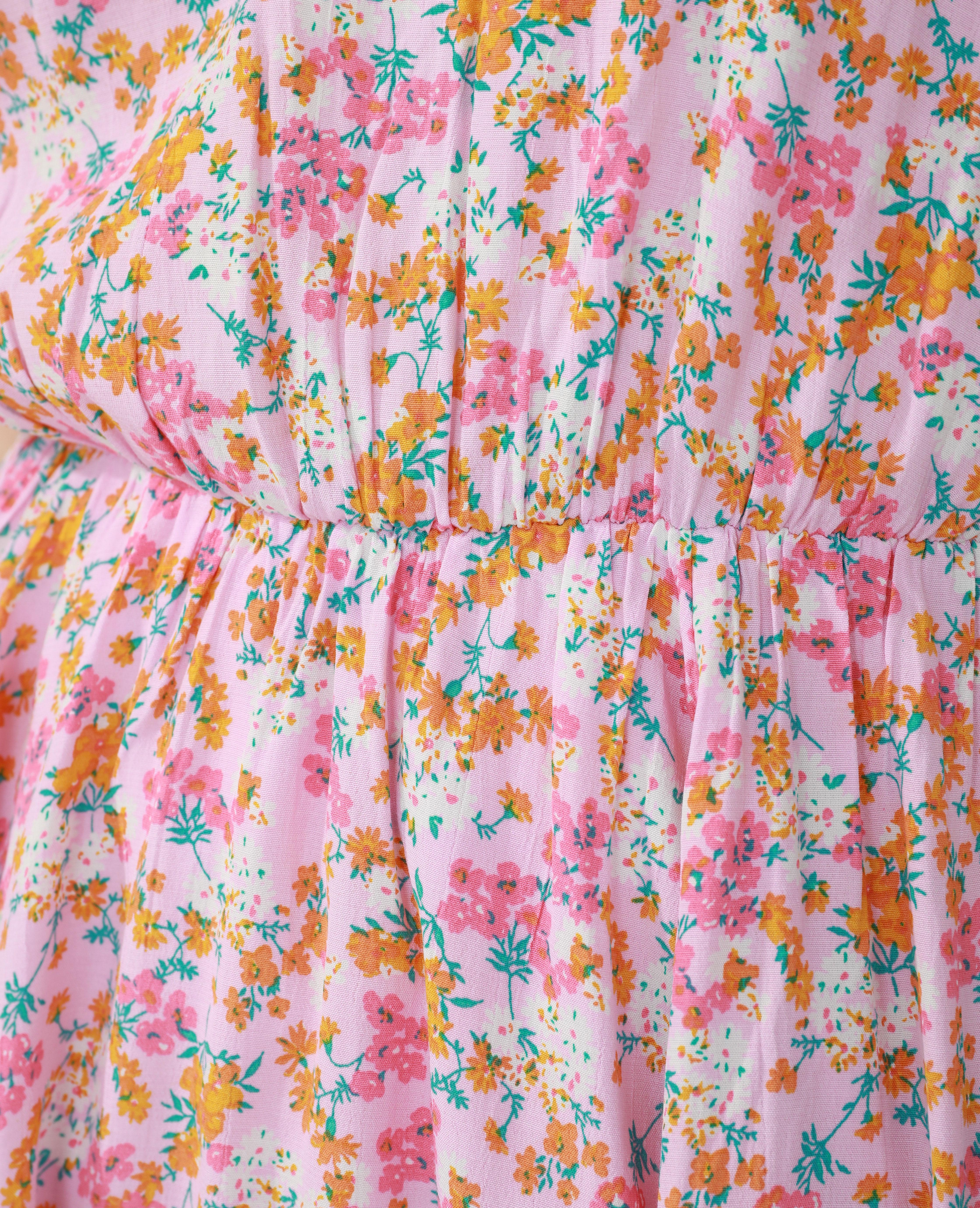 Robe fleurie rose - Pimkie