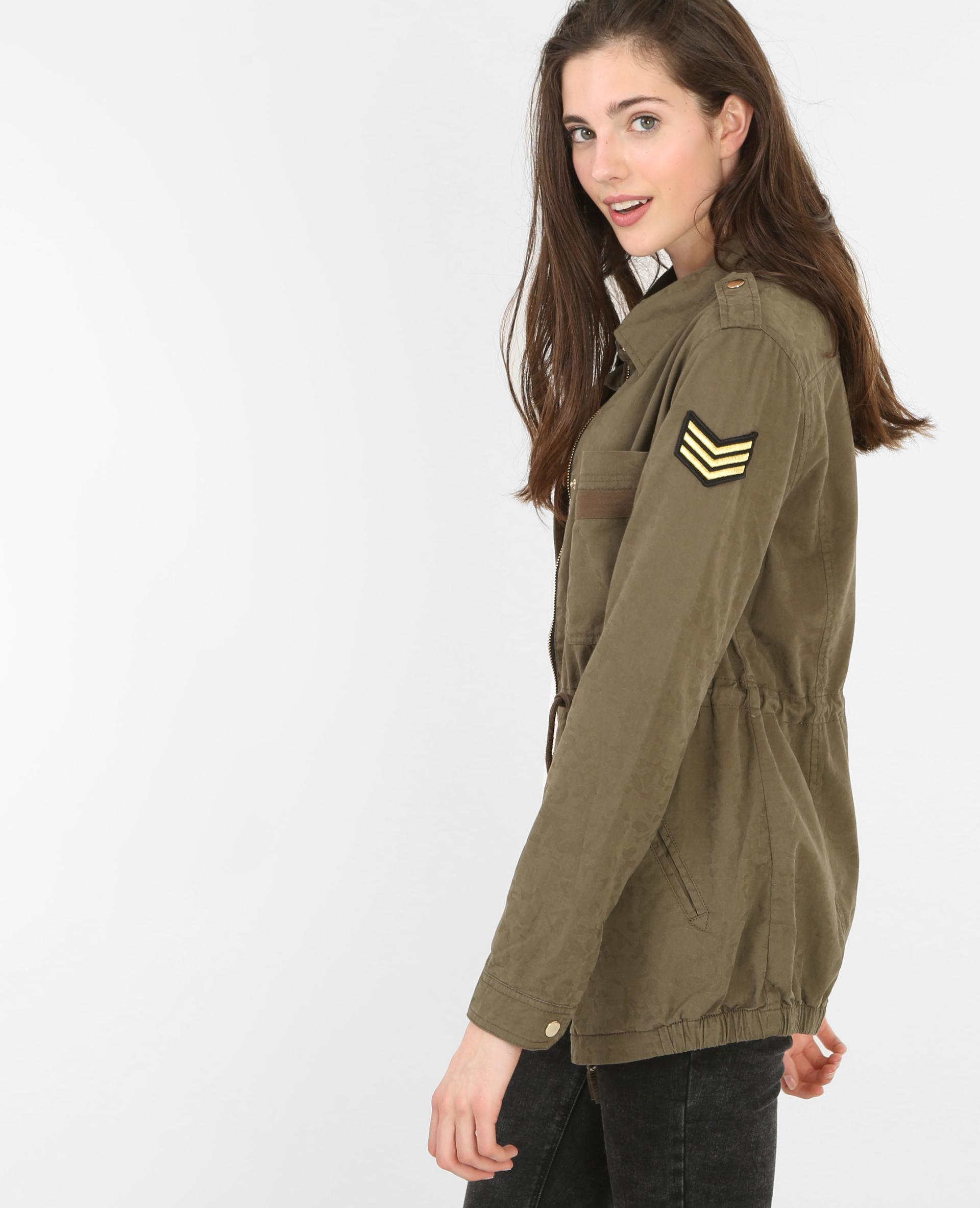 Veste militaire femme pimkie